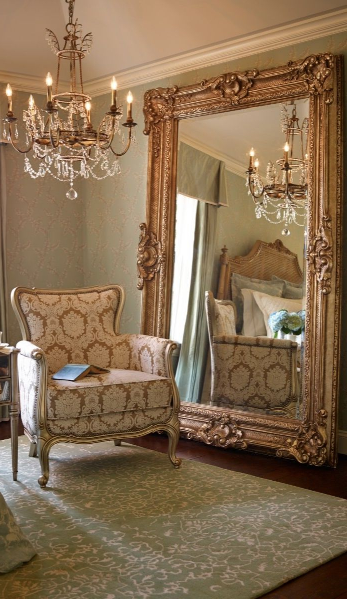 Newest Large Gold Wall Mirrors Pertaining To Large Gold Wall Mirror V Sanctuarycom Decorative Mirrors (View 12 of 20)