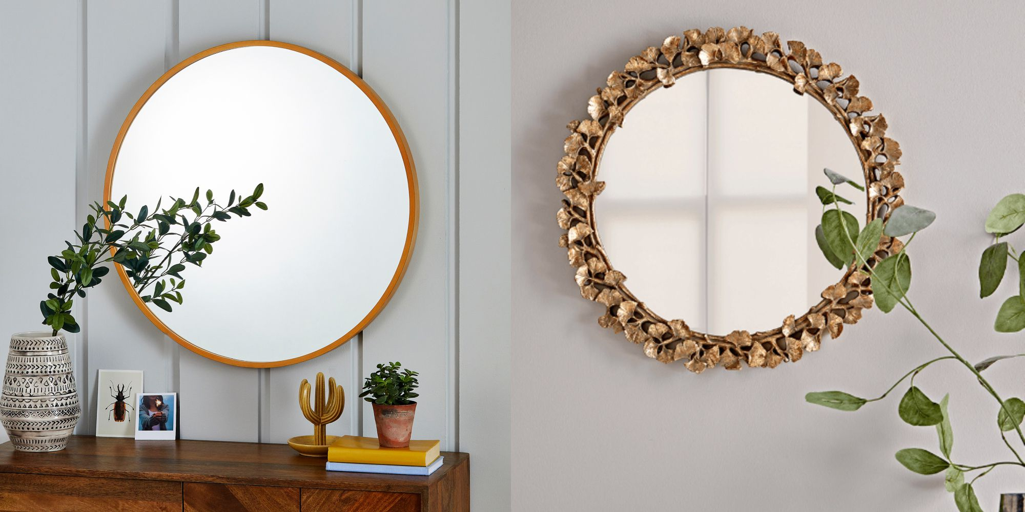 Newest Liberal Round Wall Mirror 7 Statement Mirrors To Buy For Your Home In Point Reyes Molten Round Wall Mirrors (View 16 of 20)