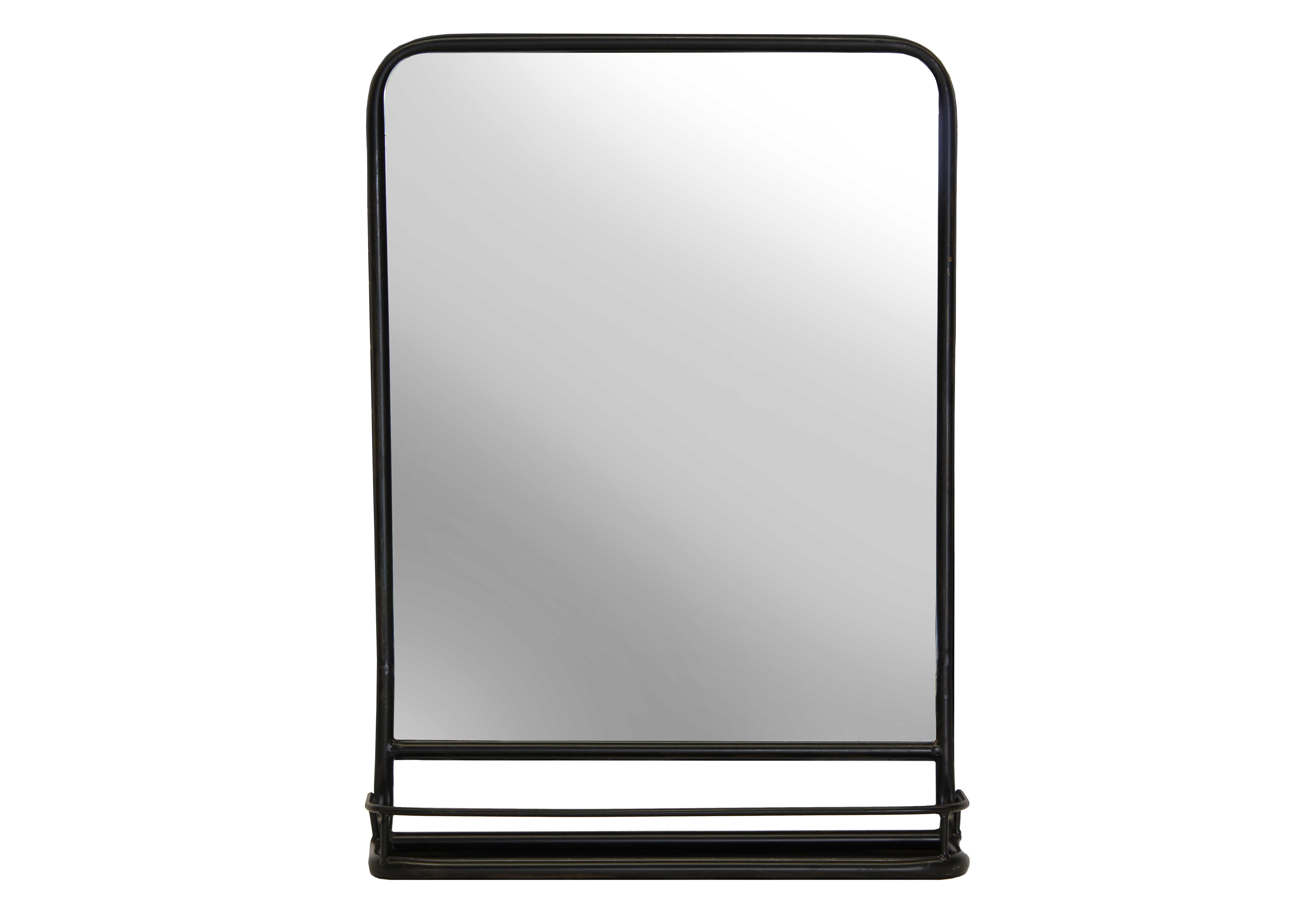 Newest Lugo Rectangle Accent Mirrors Regarding Cadbury Metal Cottage/country Accent Mirror (View 16 of 20)