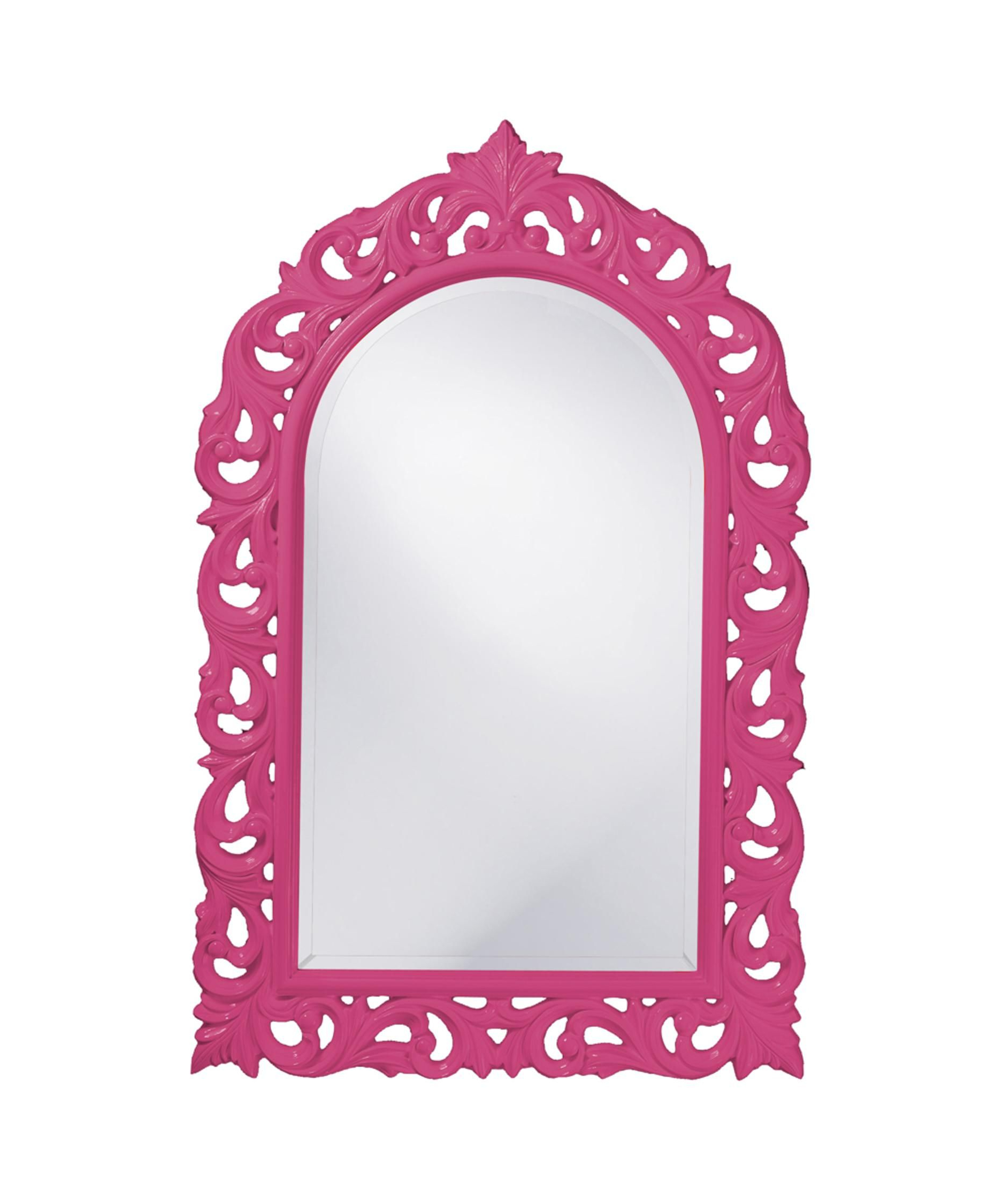 """Newest Pink Wall Mirrors With Orleans 30"""" Wall Mirror In Hot Pink: Wall Mirror In Hot Pink (View 11 of 20)"""