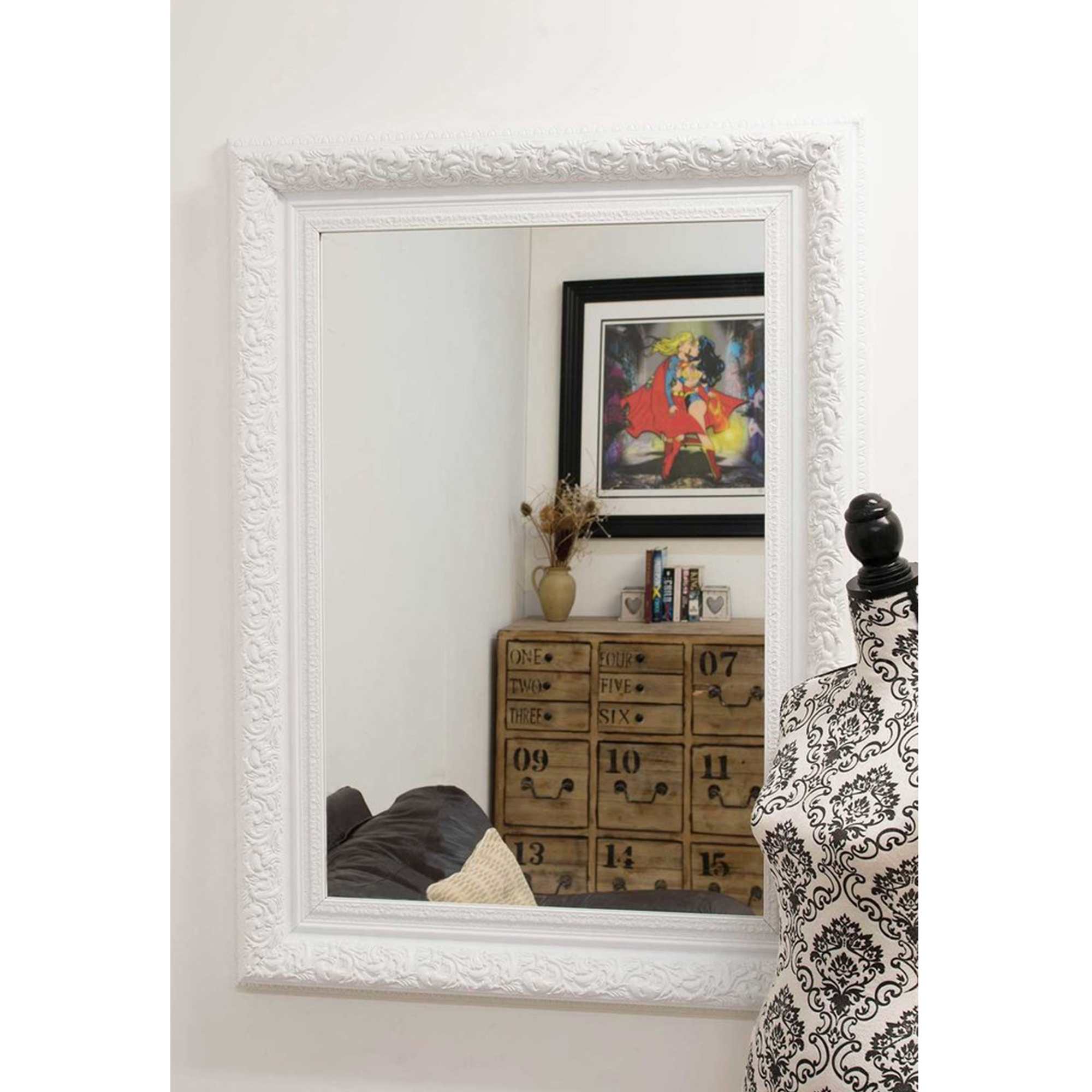 Featured Photo of Small White Wall Mirrors