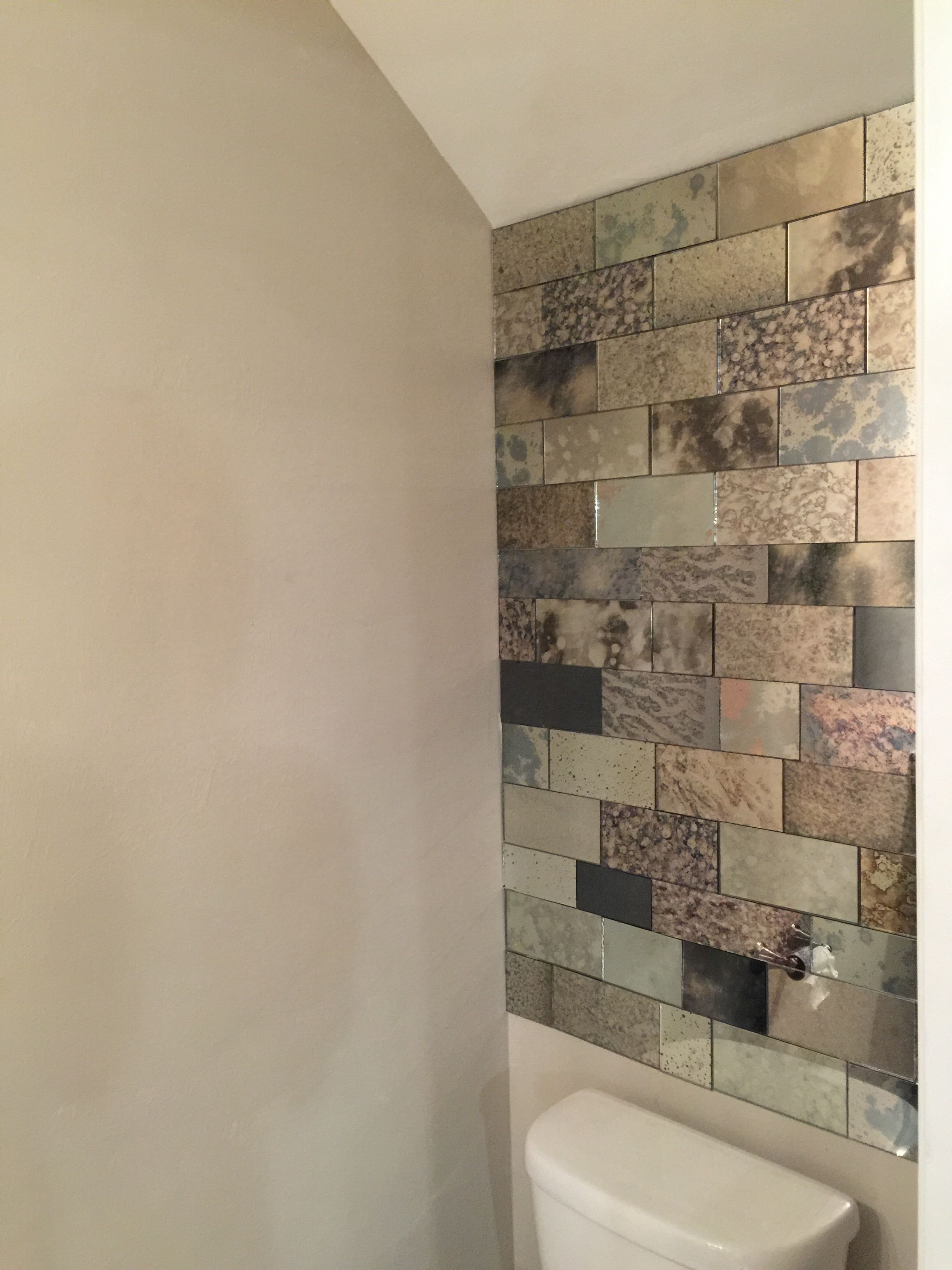 Newest Stick On Wall Mirror Tiles Within Watch This Video And Learn How To Cut Antique Mirror Tiles (View 11 of 20)