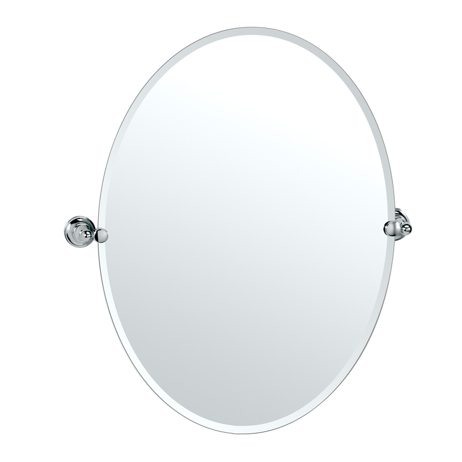 Newest Thornbury Oval Bevel Frameless Wall Mirrors For Oval Frameless Bathroom Mirror 2211206268 — Animallica (View 9 of 20)