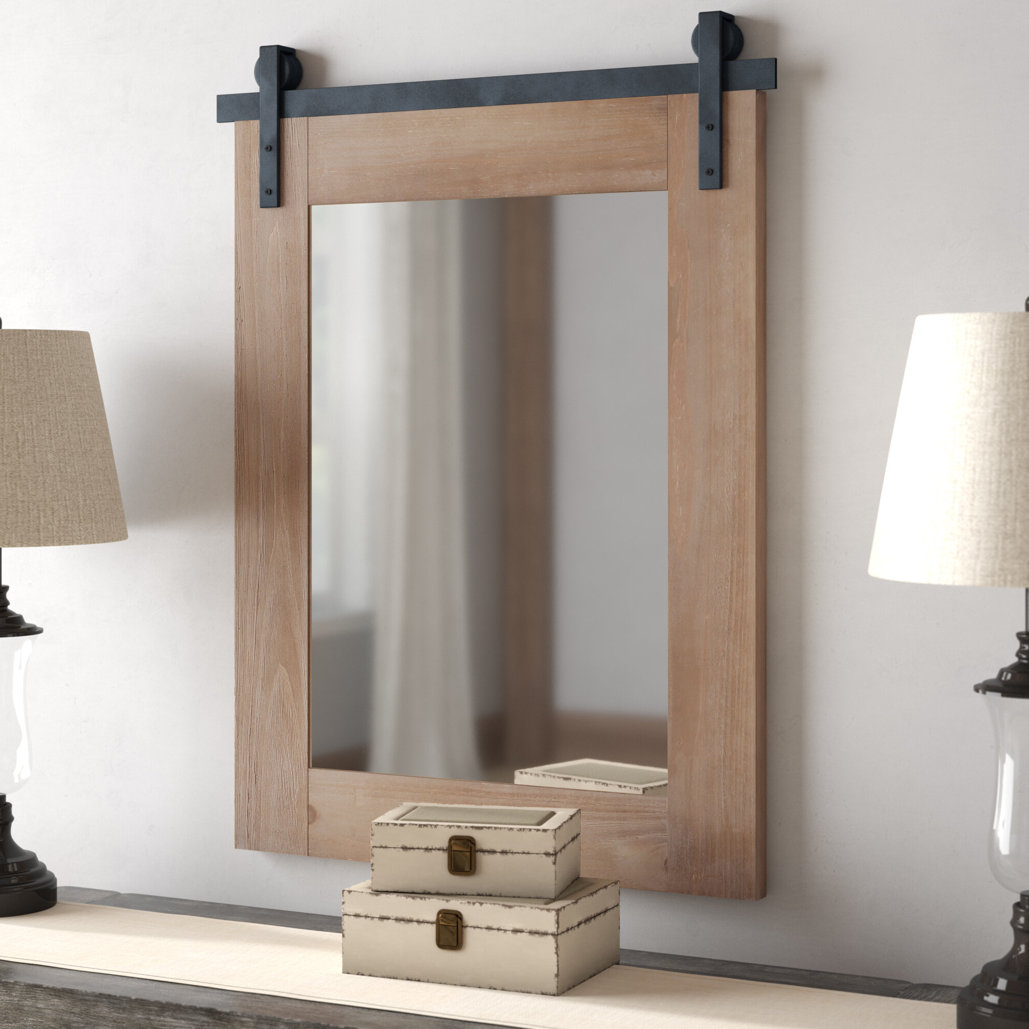 Newest Tifton Traditional Beveled Accent Mirrors Pertaining To Robson Accent Mirror (View 10 of 20)