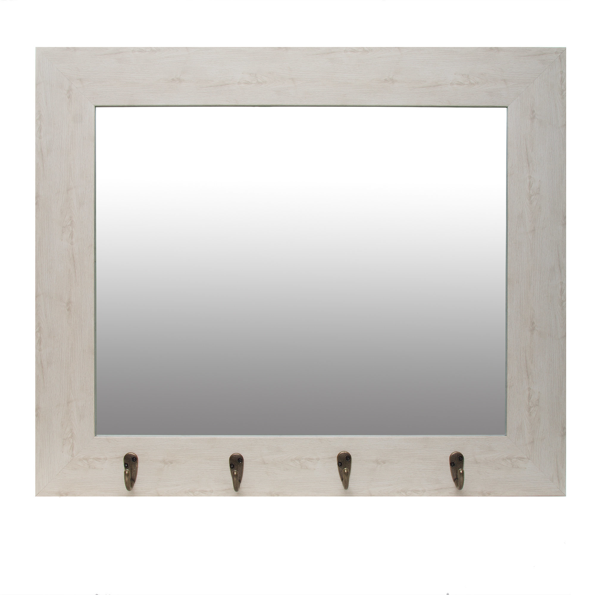 Newest Townson Washed Rustic Accent Mirror With Longwood Rustic Beveled Accent Mirrors (Gallery 9 of 20)
