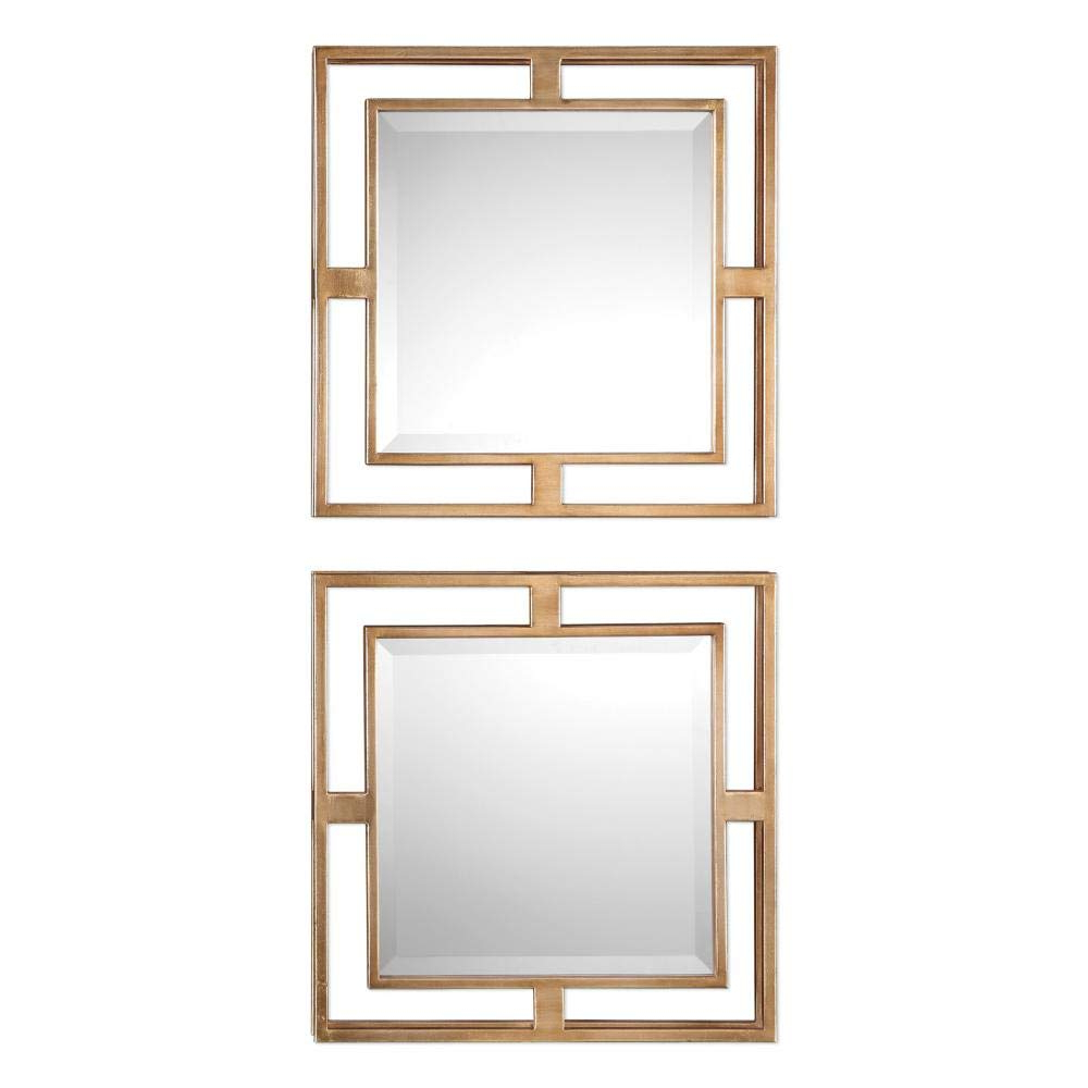 Newest Uttermost Allick Square Wall Mirrors – Set Of 2 With Uttermost Wall Mirrors (View 10 of 20)