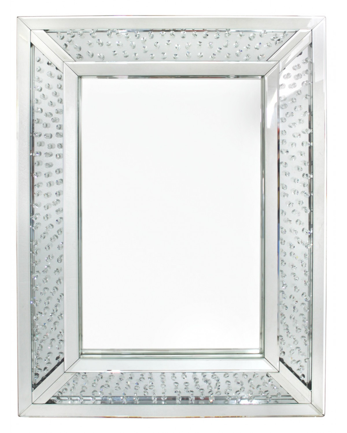 Newest Wall Mirrors With Crystals Intended For Crystal Wall Mirror – Pmpresssecretariat (View 8 of 20)