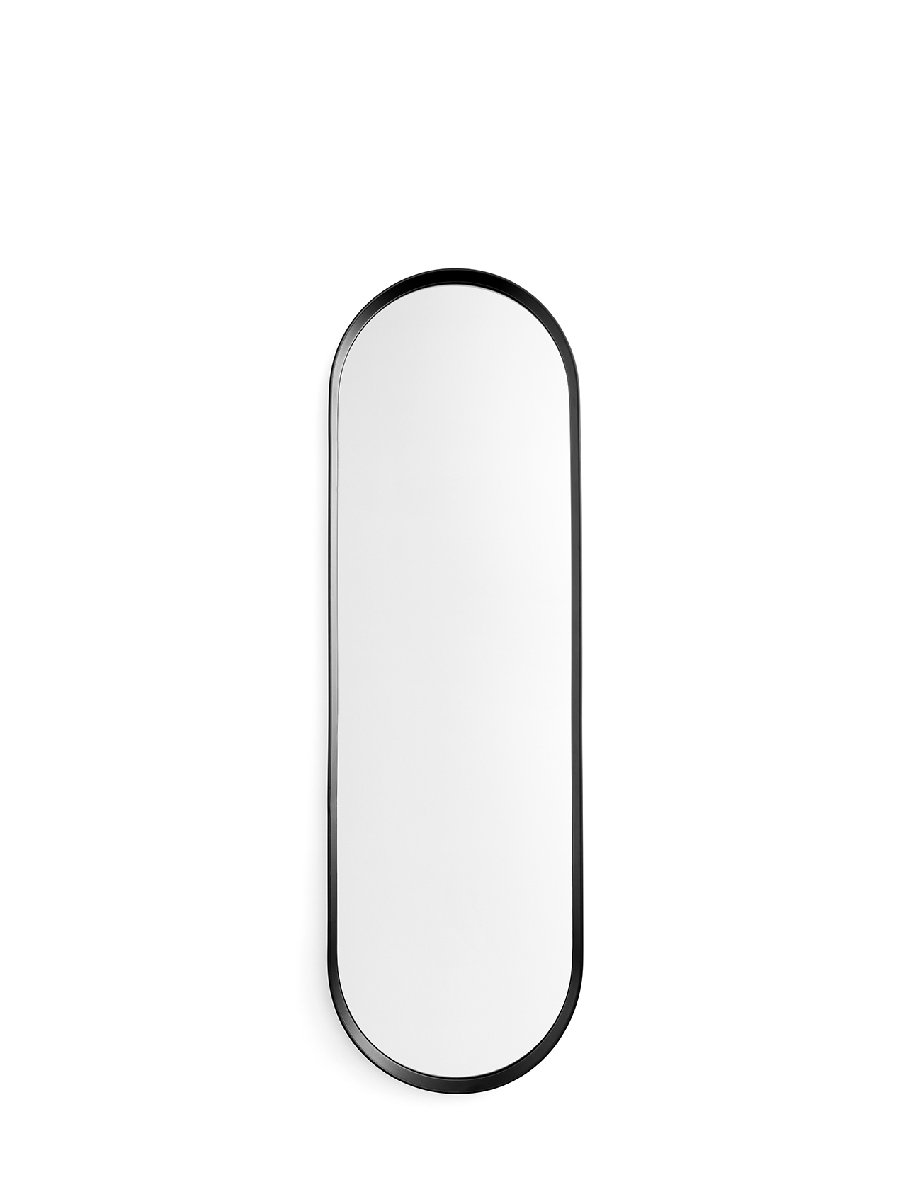 Norm Wall Mirror, Oval, Black – Mirrors – Large – Furniture – Shop In Famous Black Oval Wall Mirrors (View 10 of 20)