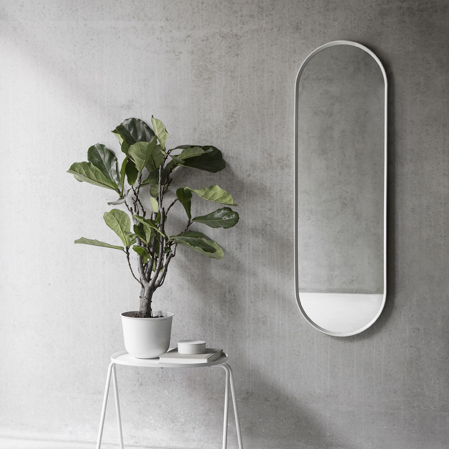 Norm Wall Mirror – Oval – Menu A/s Collection – Wgu Design Intended For Most Current White Oval Wall Mirrors (View 17 of 20)