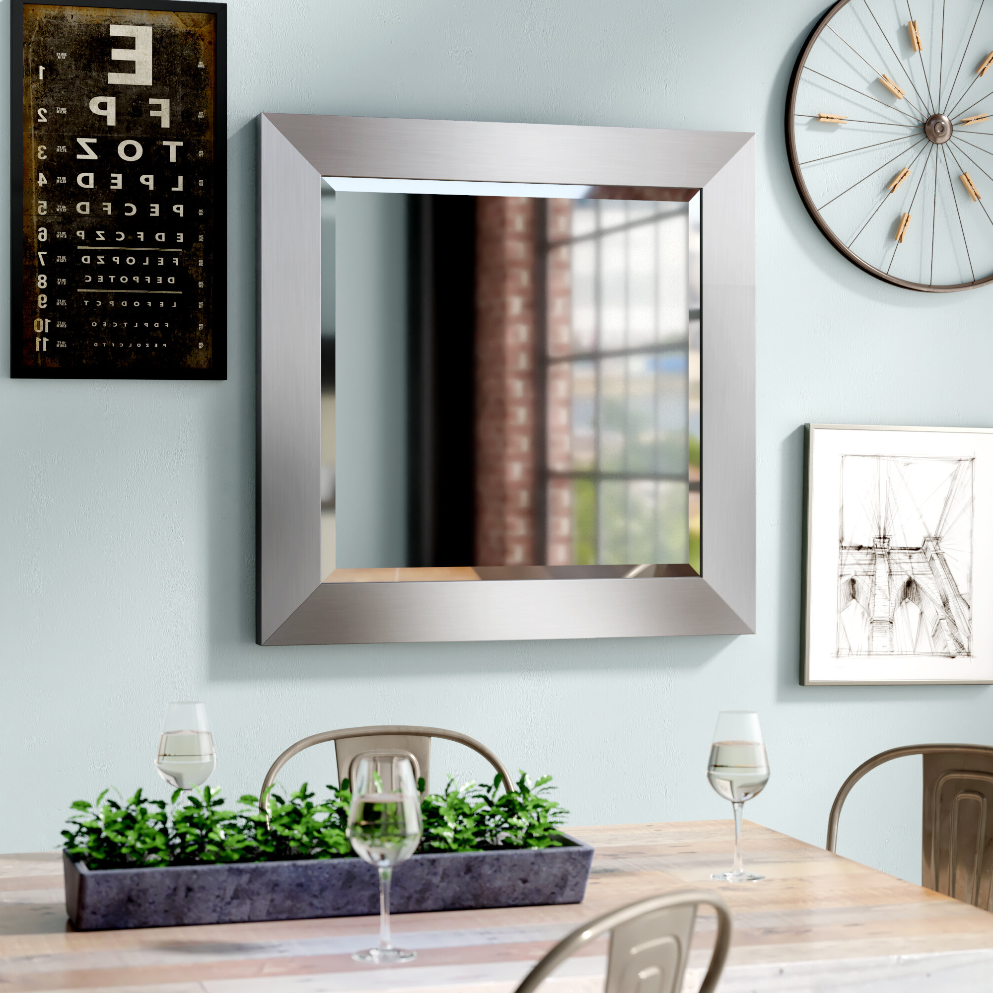 Northend Wall Mirrors In Most Recently Released Latitude Run Wall Mirror (Gallery 9 of 20)