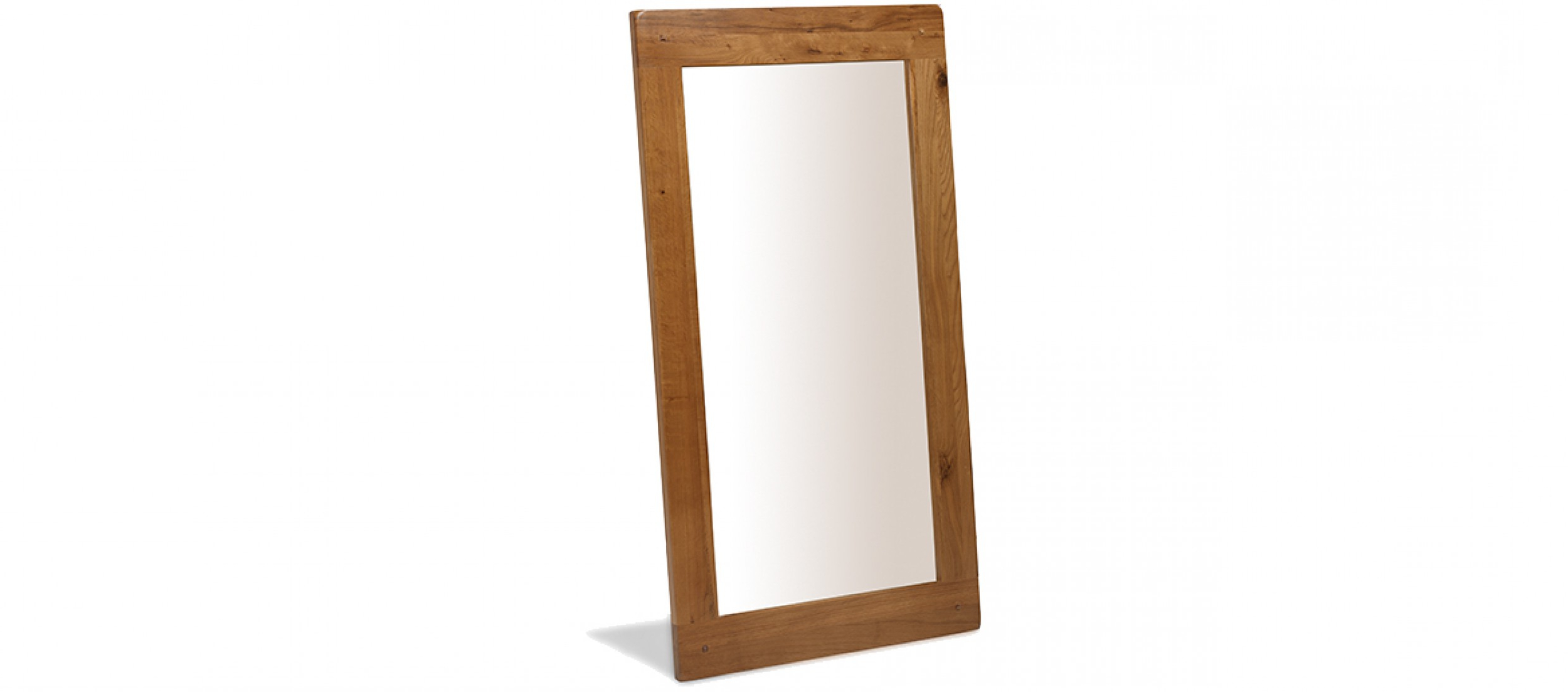 Oak Framed Wall Mirrors Intended For Newest Rustic Oak Wall Mirror (View 17 of 20)