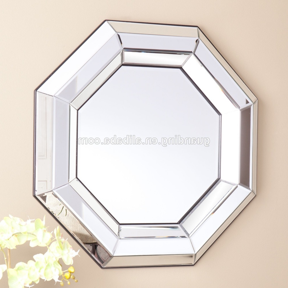 Octagon Wall Mirror With Bevelled Edge Home Decorative Wall Mirror – Buy Octagon Wall Mirror,decorative Wall Mirror,bevelled Adge Mirror Product On With Well Liked Octagon Wall Mirrors (View 10 of 20)