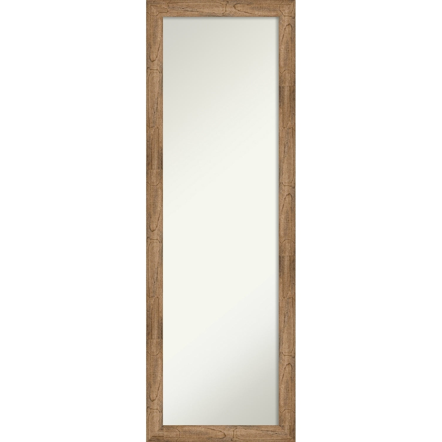 On The Door Full Length Wall Mirror, Owl Brown Narrow: Outer Size 17 X  51 Inch – 51.38 X 17.38 X 0.795 Inches Deep With Preferred Handcrafted Farmhouse Full Length Mirrors (Gallery 15 of 20)