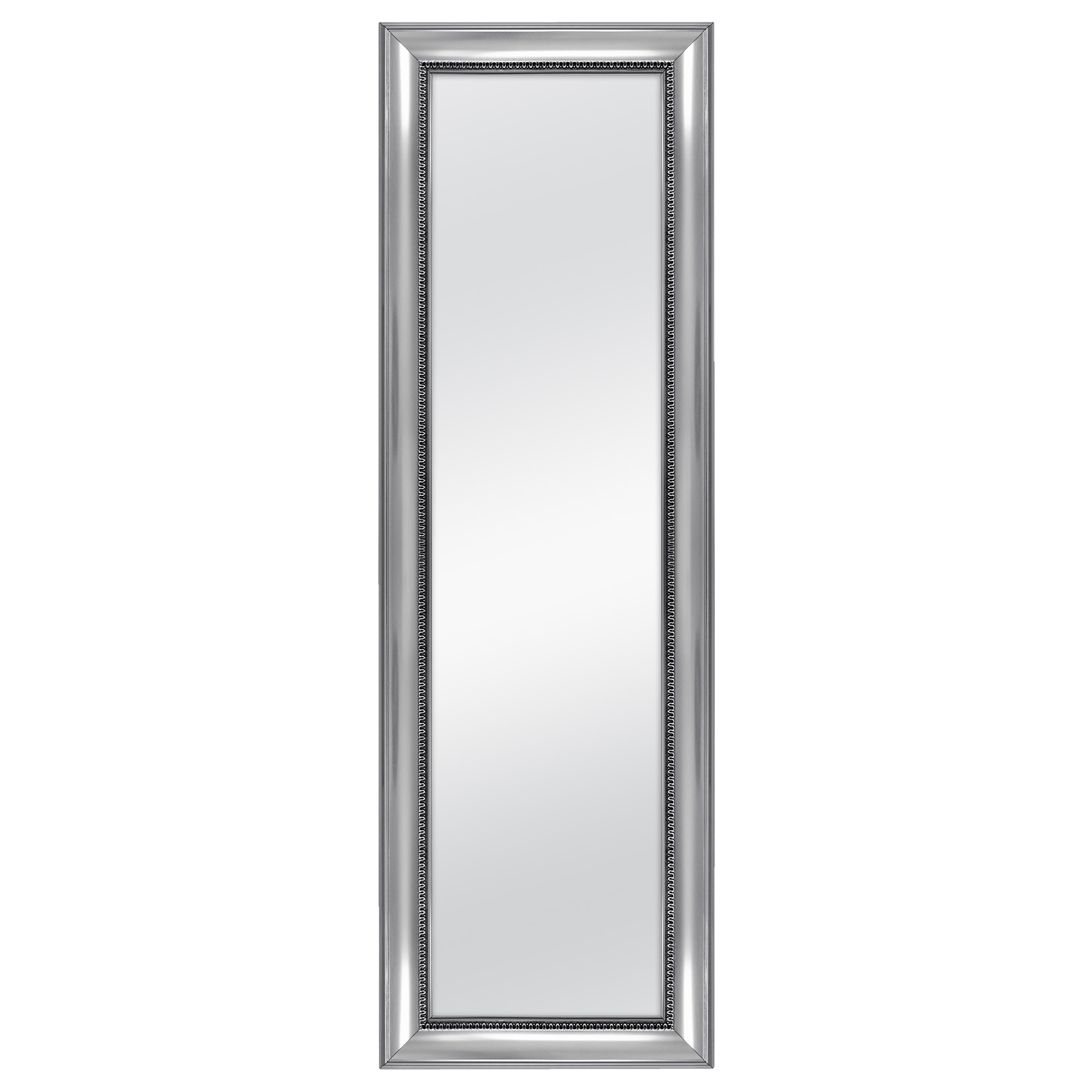 Ornate Full Length Wall Mirrors Regarding Favorite Mainstays Over The Door Wall Mirror, Silver Ornate Finish (View 13 of 20)