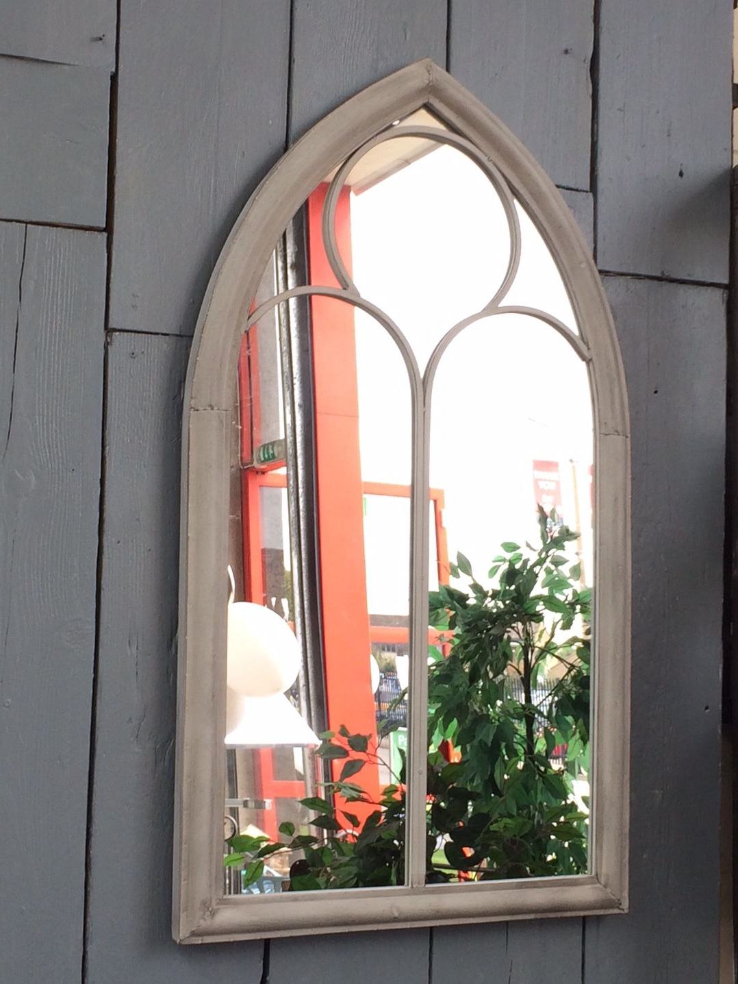 Outdoor Garden Wall Mirrors Pertaining To Recent A Superb Garden Church Arch Outdoor Wall Mirror (View 11 of 20)