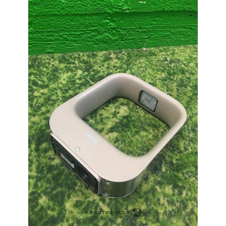 Outdoor Wall Mirrors With Popular Beige Philips Outdoor Wall Mirror – Konverter Outlet (View 12 of 20)