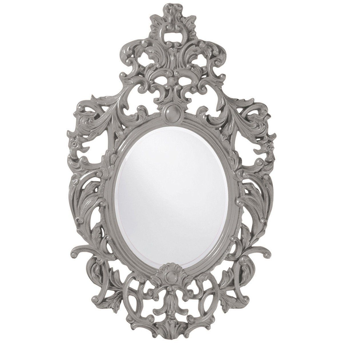 Oval Mirror, Pink Mirror With Regard To Most Current Broadmeadow Glam Accent Wall Mirrors (View 7 of 20)