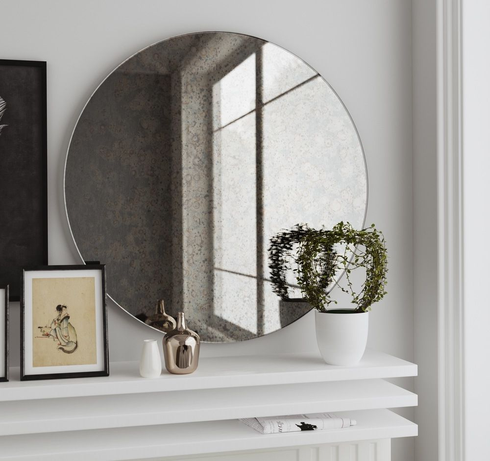 Oversized Frameless Wall Mirrors (View 8 of 20)
