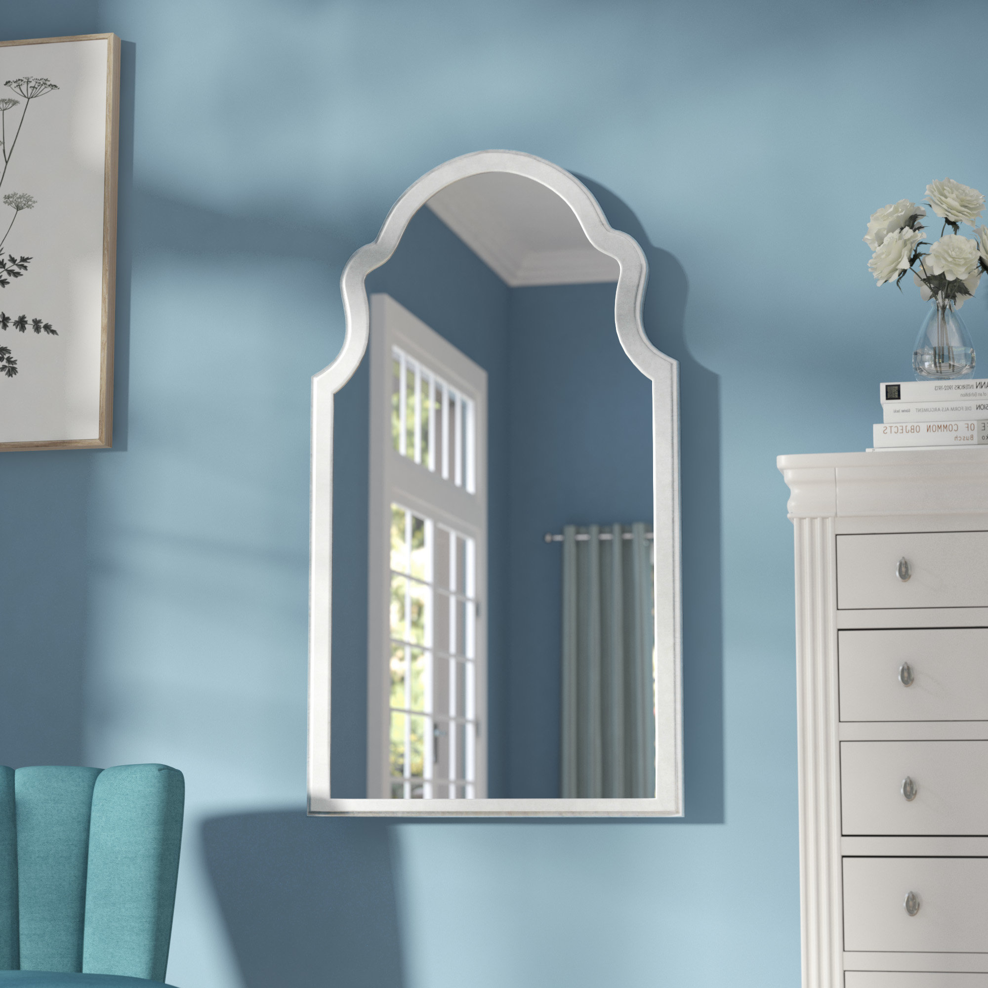 Owens Accent Mirrors Intended For Most Recently Released Farah Traditional Accent Mirror (View 11 of 20)