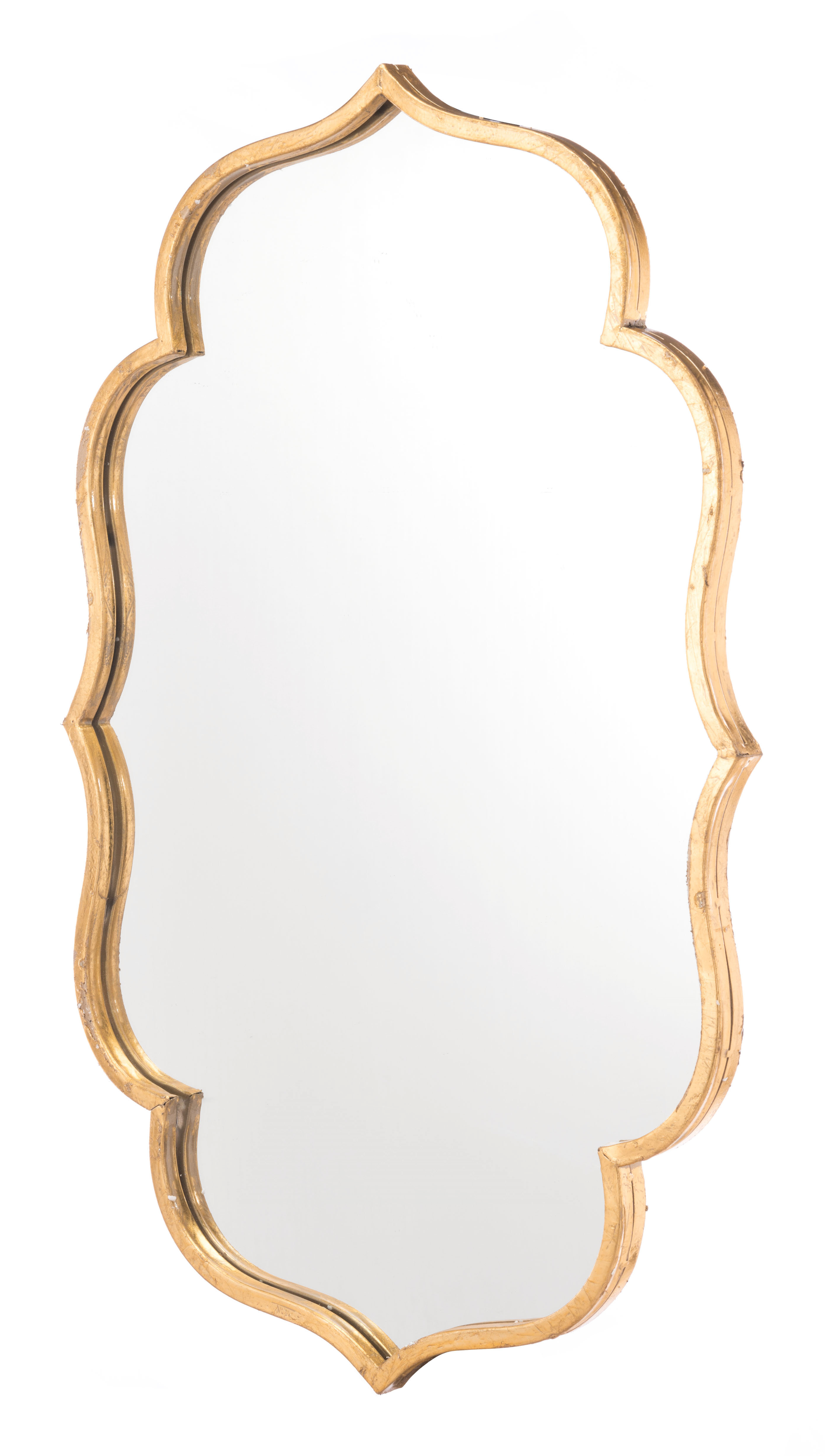 Padang Irregular Wood Framed Wall Mirrors Throughout Popular South Fork Modern & Contemporary Accent Mirror (View 16 of 20)