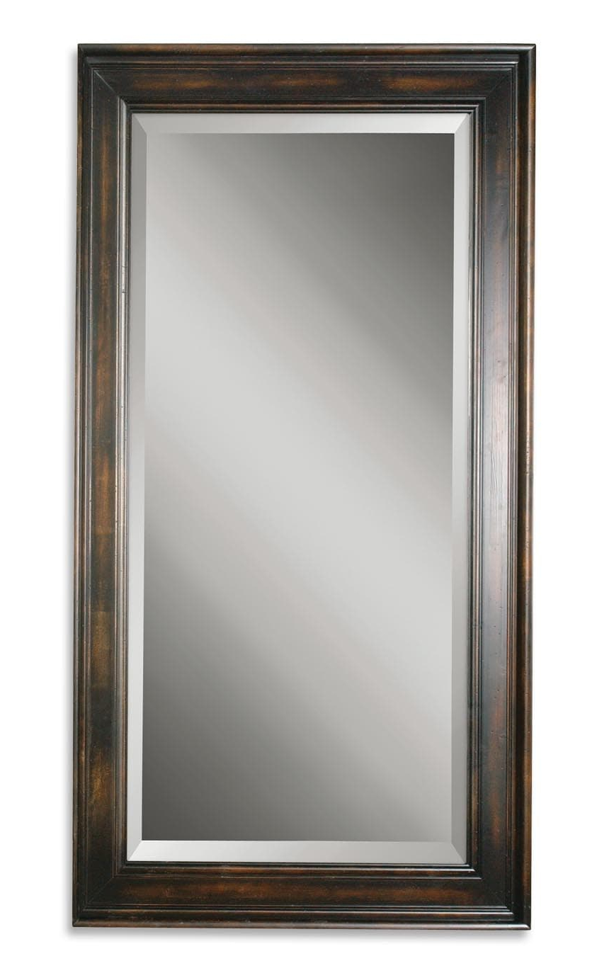 Palmer Dark Large Wall Mirroruttermost – 40″ X 70″ Inside Current Large Wood Wall Mirrors (View 17 of 20)