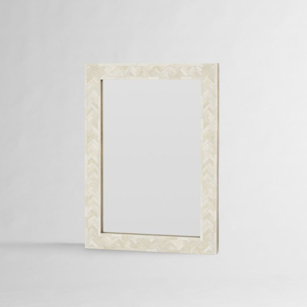 Parsons Wall Mirror – Bone Inlay – 61Cm X 86Cm – West Elm – $359 Pertaining To Favorite Parsons Wall Mirrors (View 12 of 20)
