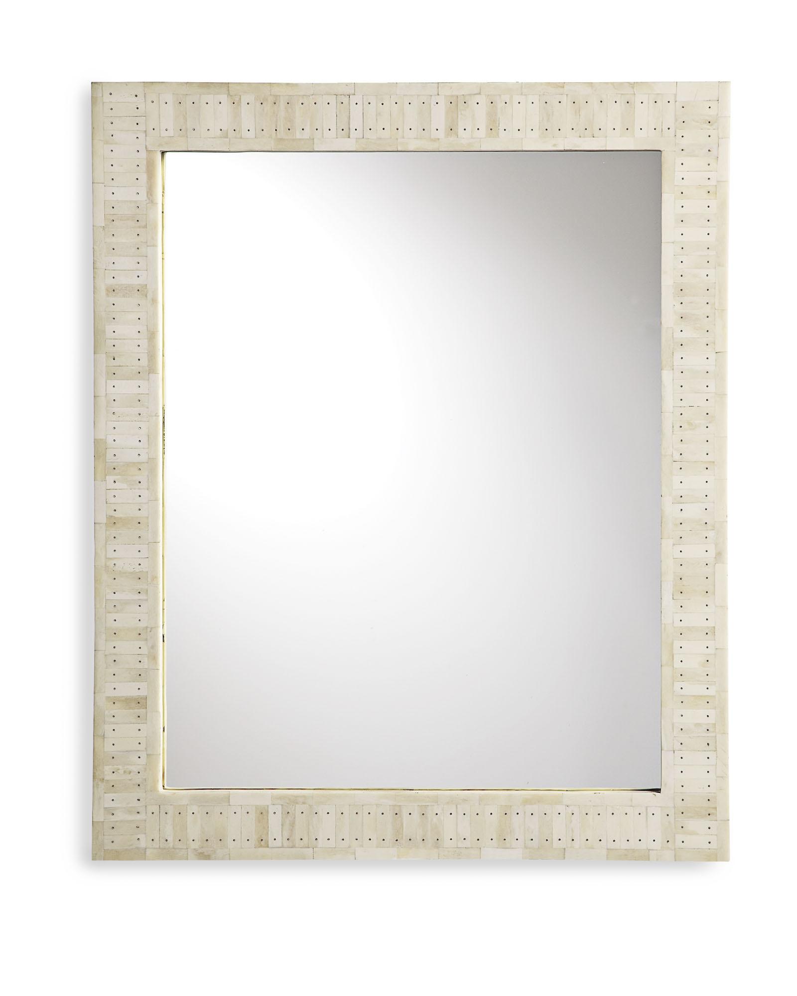 Parsons Wall Mirror Bone Inlay • Bathroom Mirrors And Wall Mirrors For Latest Parsons Wall Mirrors (View 1 of 20)