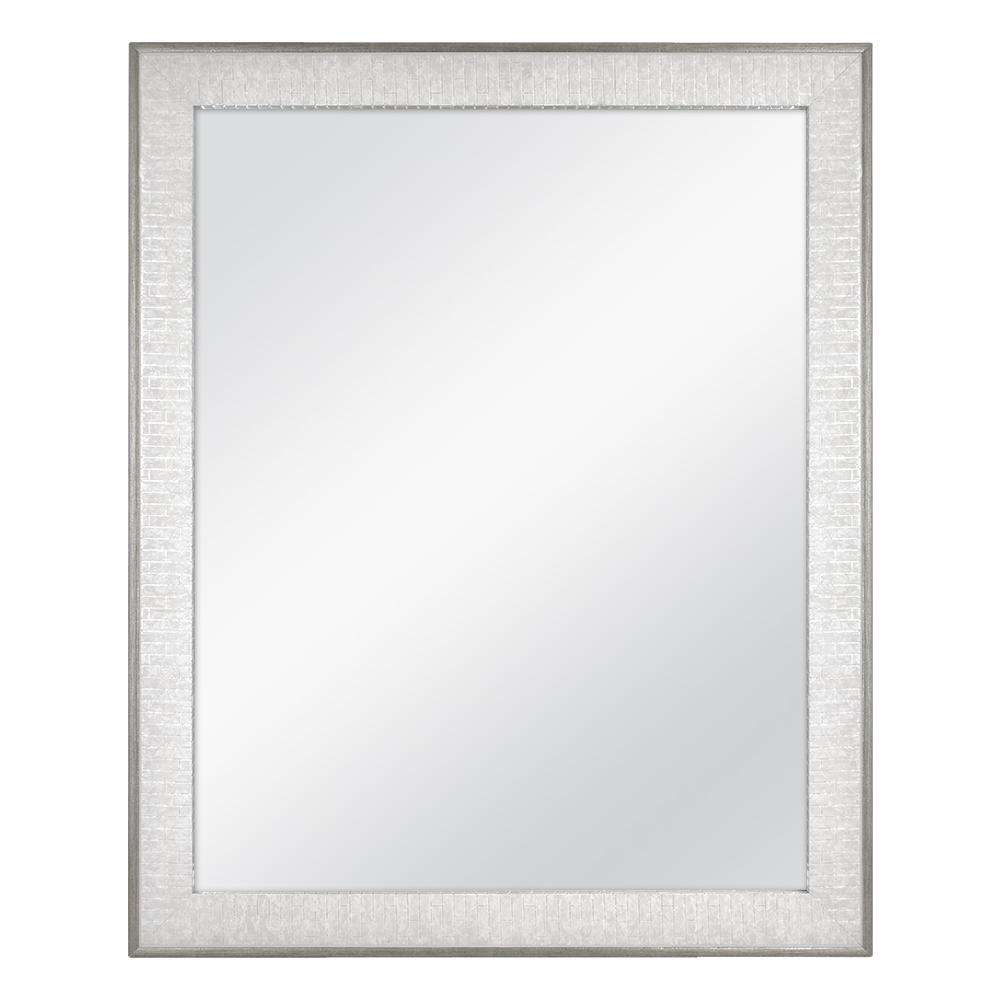 Pewter Wall Mirrors Intended For Recent Home Decorators Collection 25 In. X 31 In (View 14 of 20)