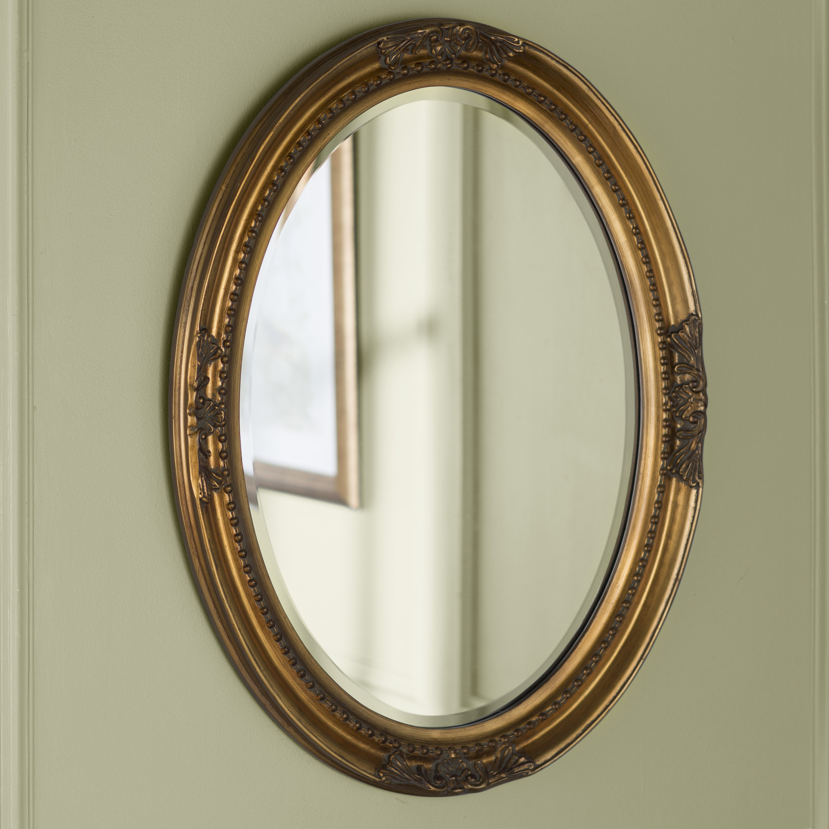 Pfister Oval Wood Wall Mirrors In Well Known Oval Wood Wall Mirror (View 4 of 20)