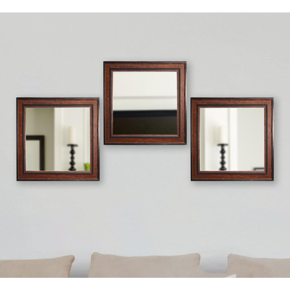 Pine Wall Mirrors With Well Known Rayne Mirrors 19.5 In. X 19.5 In (View 17 of 20)