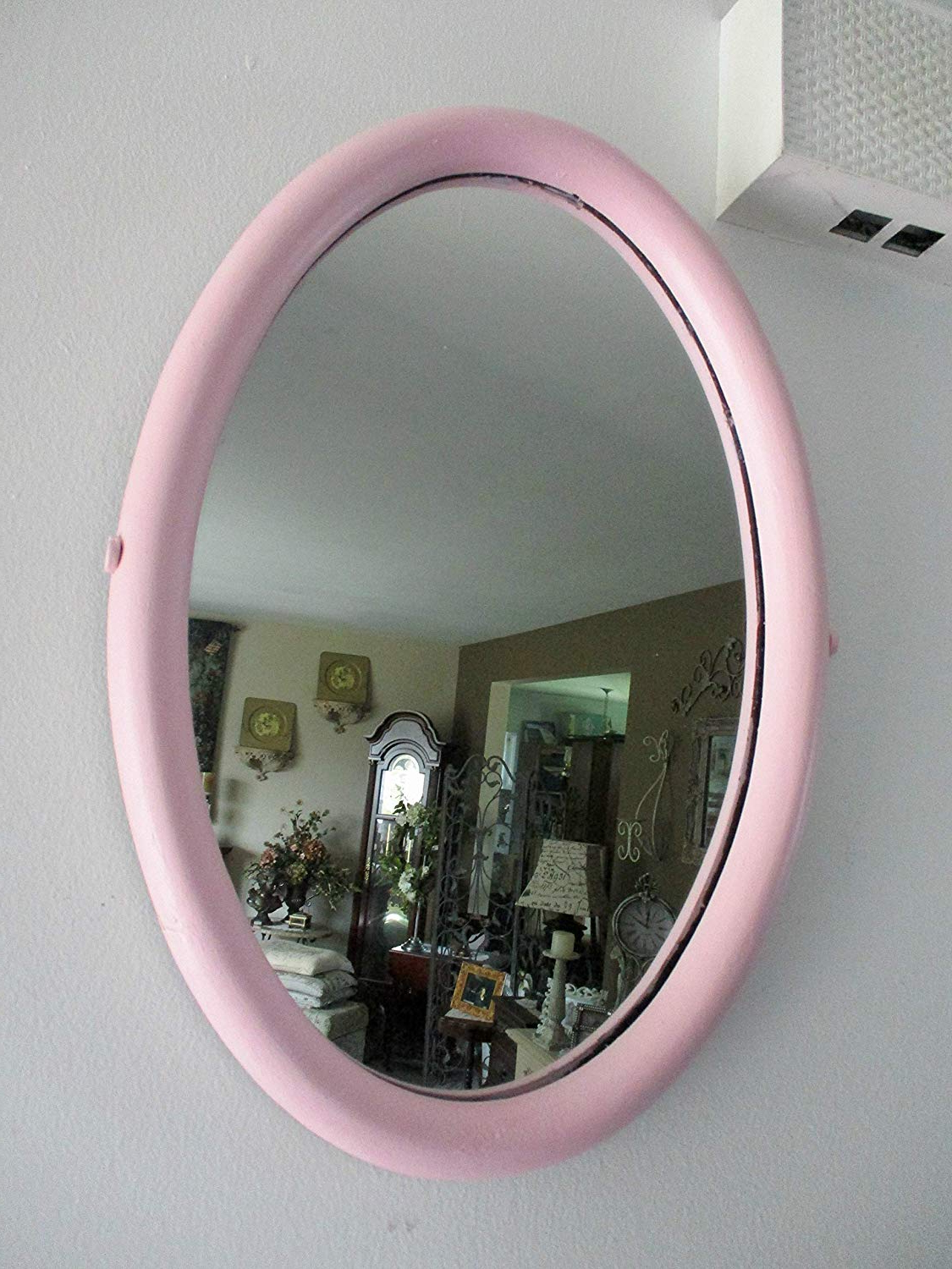 Pink Wall Mirrors Intended For Recent Cheap Hot Pink Wall Mirror, Find Hot Pink Wall Mirror Deals On Line (View 4 of 20)