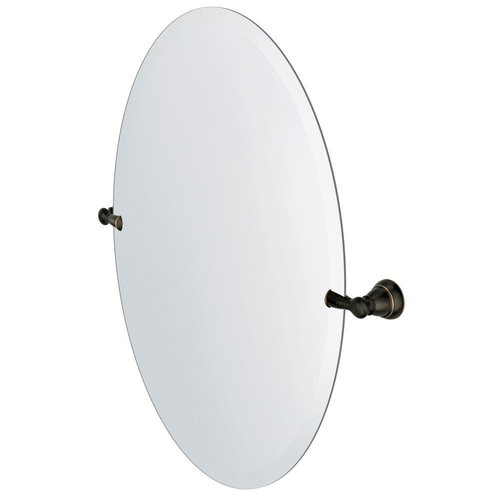 Pivoting Wall Mirror Inside Widely Used Moen Banbury 23 In. X 26 In (View 14 of 20)