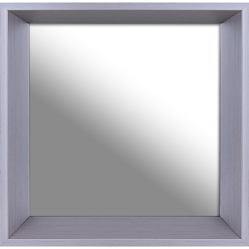 Plain Wall Mirrors Throughout Well Known 10.5 In. X 10.5 In (View 10 of 20)