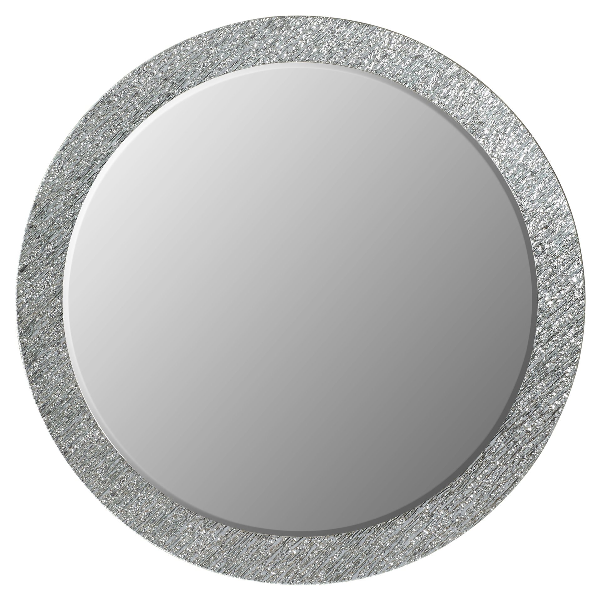Point Reyes Molten Round Wall Mirror With Most Recent Sajish Oval Crystal Wall Mirrors (View 11 of 20)