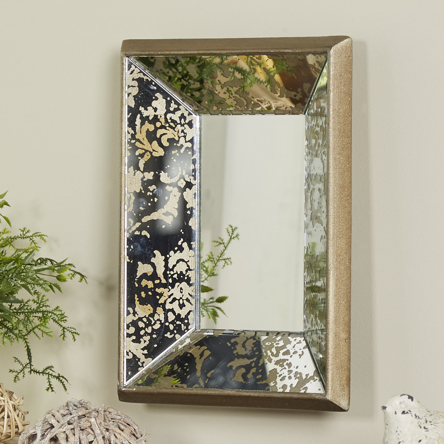 Polanco Accent Mirror Throughout Most Recent Stamey Wall Mirrors (View 11 of 20)