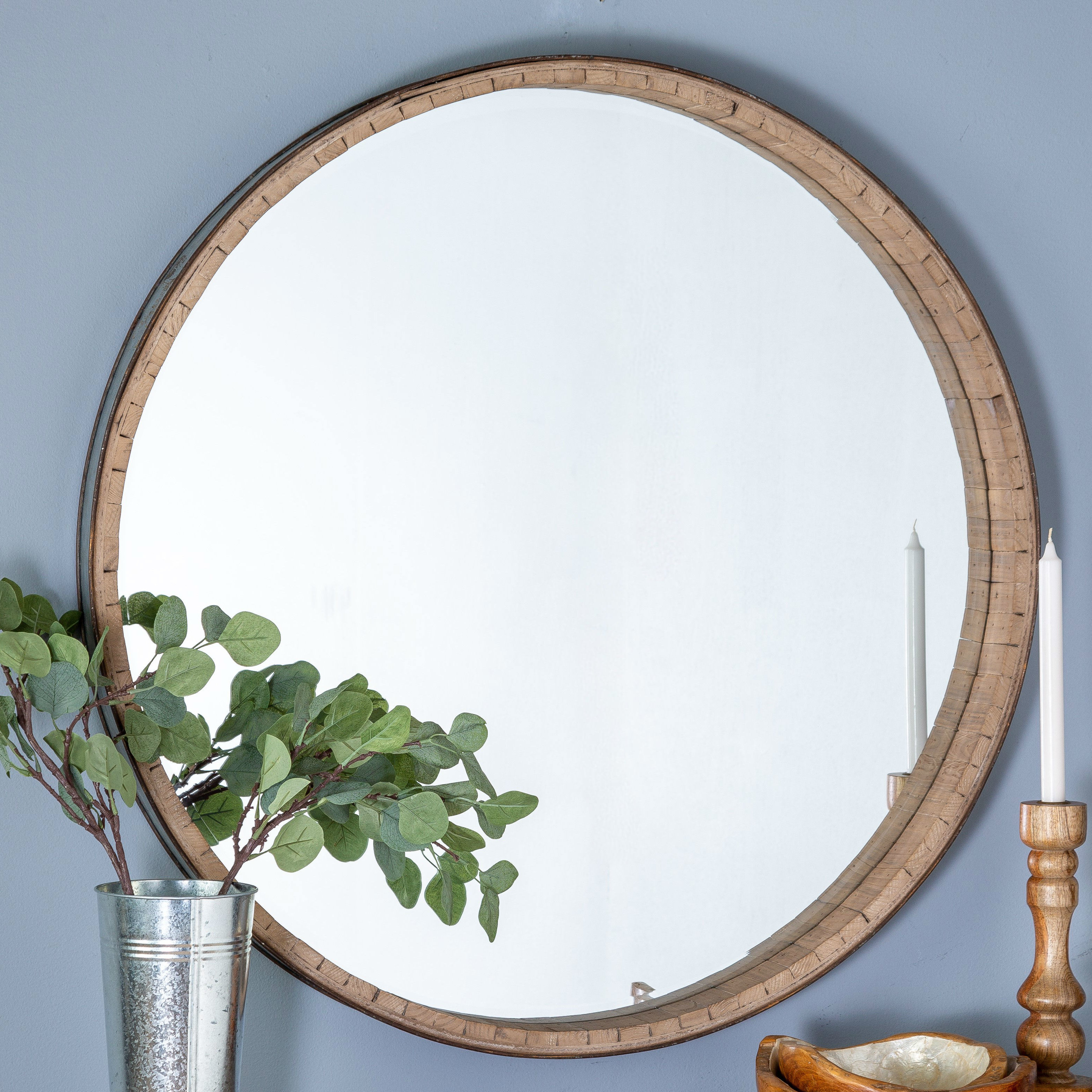Polen Traditional Wall Mirrors With Regard To Well Known Norene Wall Mirror (View 13 of 20)