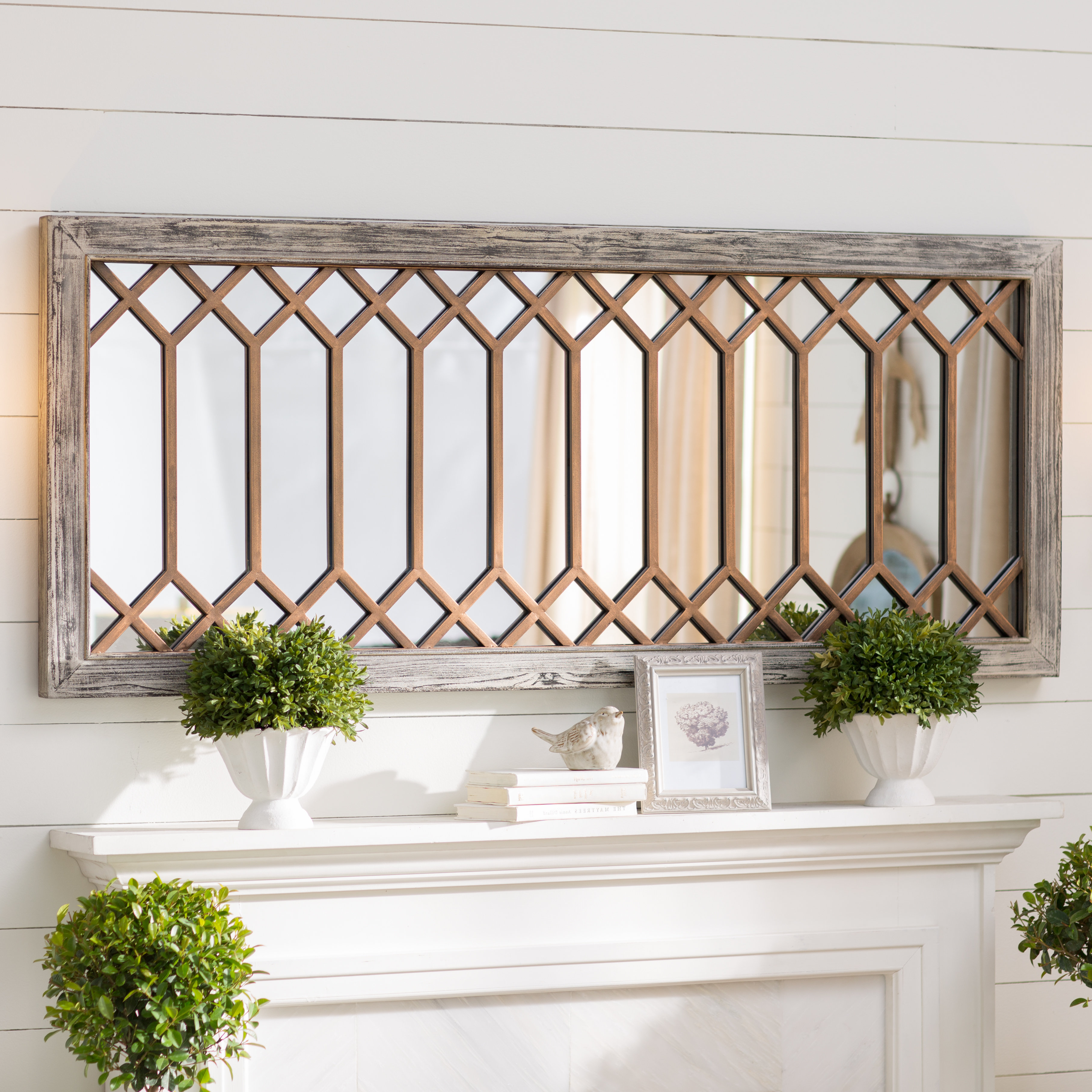 Polito Cottage/country Wall Mirror In Widely Used Polen Traditional Wall Mirrors (View 15 of 20)