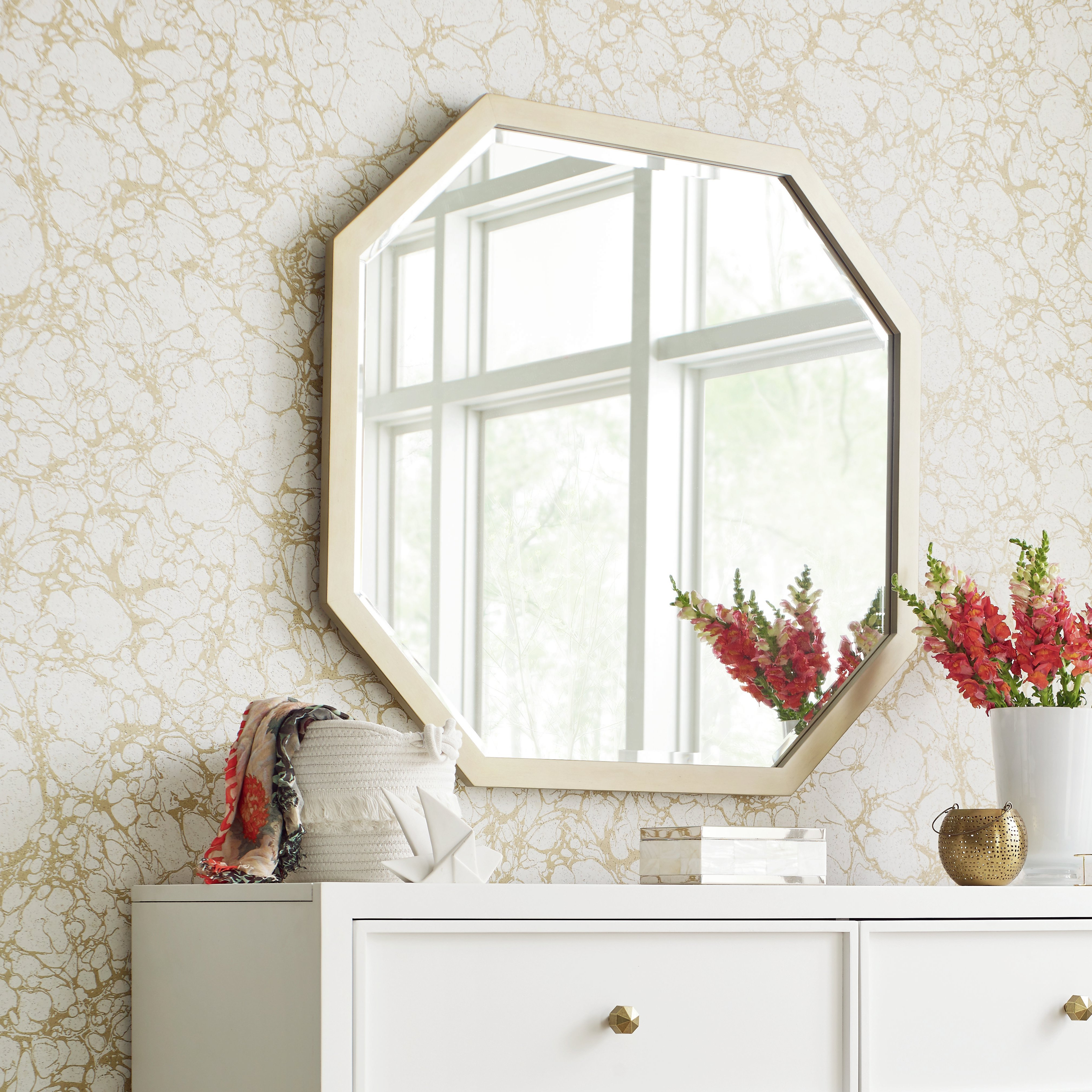 Polito Cottage/country Wall Mirrors Regarding Famous Chelsea Modern & Contemporary Dresser Mirror (View 14 of 20)