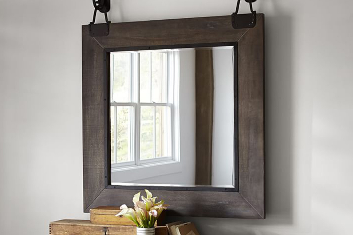 Popular 15 Best Industrial Mirrors For Your Loft Apartment Regarding Industrial Wall Mirrors (View 17 of 20)