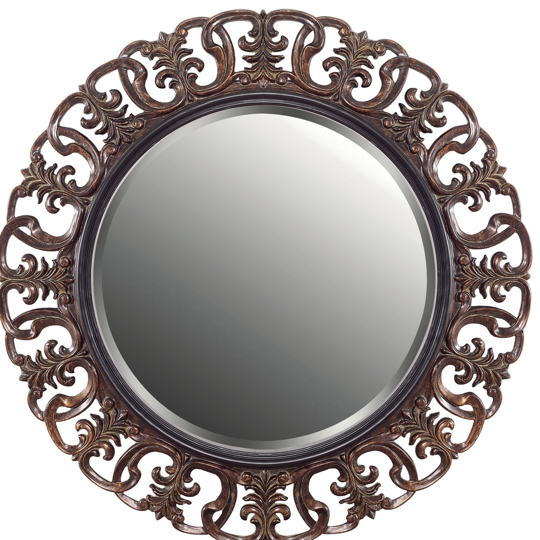 Popular Abbey Accent Wall Mirror Pertaining To Alissa Traditional Wall Mirrors (View 13 of 20)
