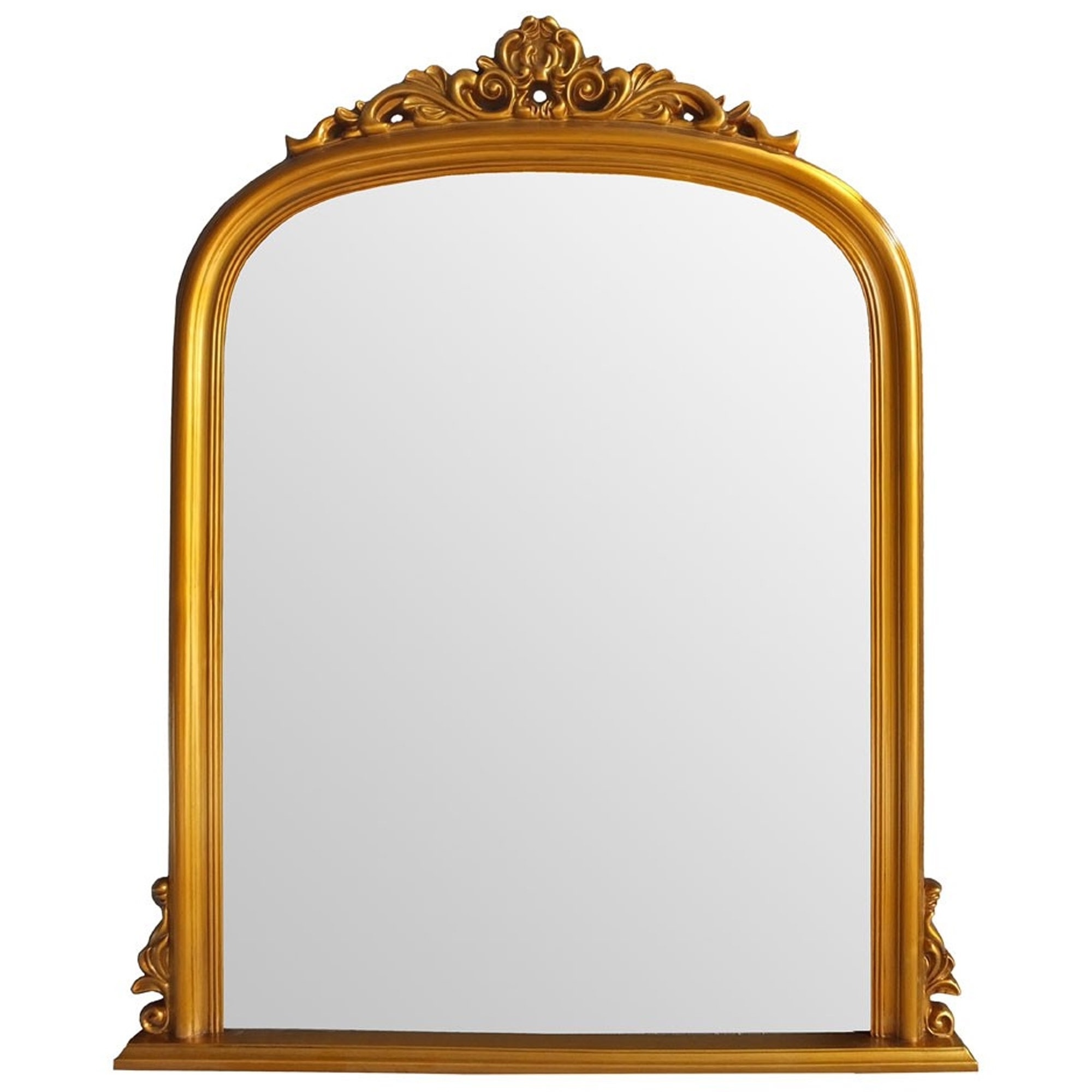 Popular Antique French Style Gold Henrietta Wall Mirror Regarding Gold Wall Mirrors (View 14 of 20)