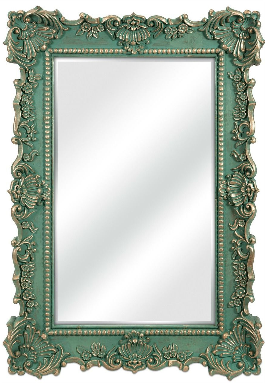 Popular Aqua Wall Mirrors With Aqua Sophia Beach Cottage Wall Mirror (Gallery 2 of 20)