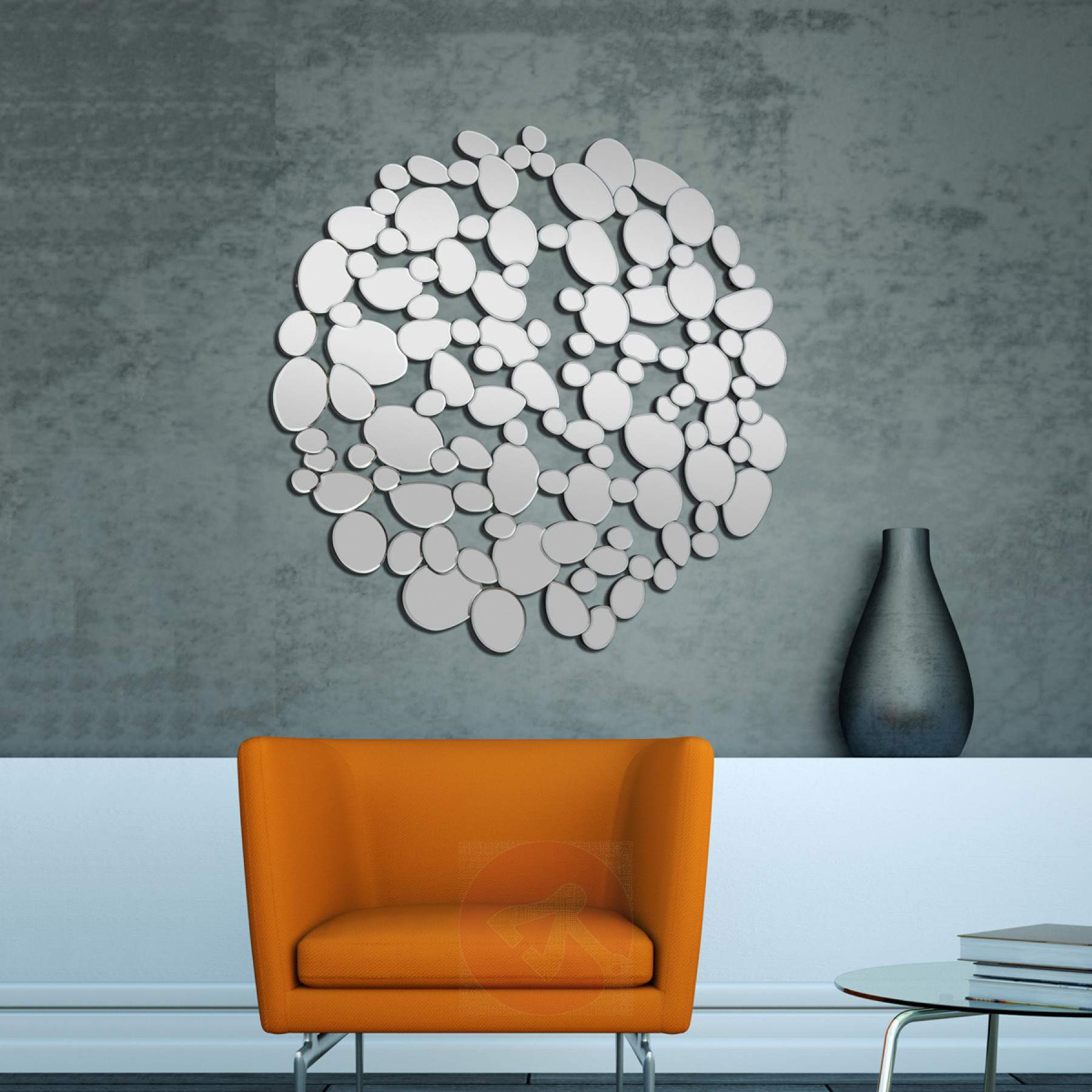 Popular Bubble Wall Mirrors Regarding Decorative Designer Wall Mirror Bubble Round (View 18 of 20)