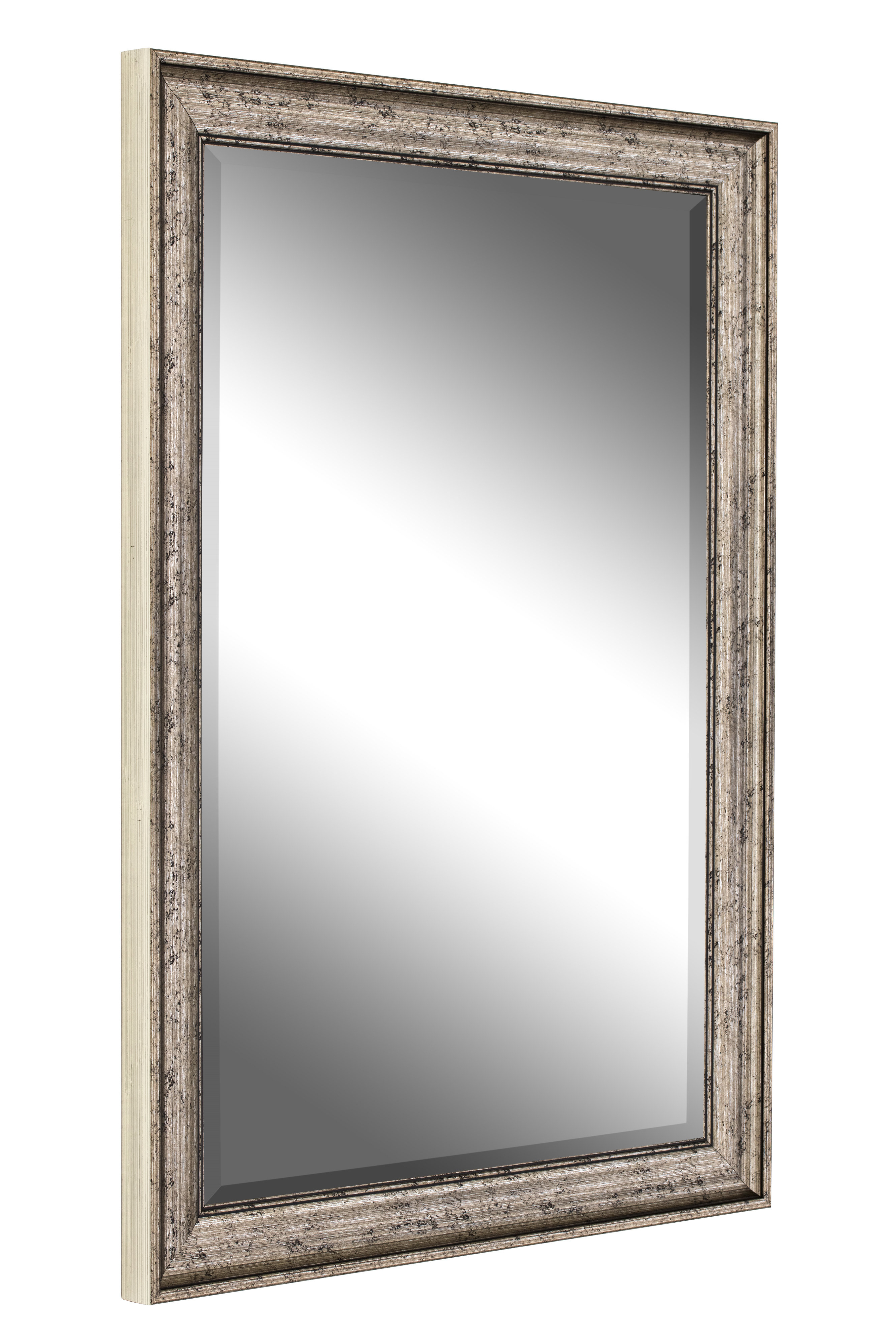 Popular Curren Vintage Beveled Silver Wall Mirror For Boyers Wall Mirrors (View 8 of 20)