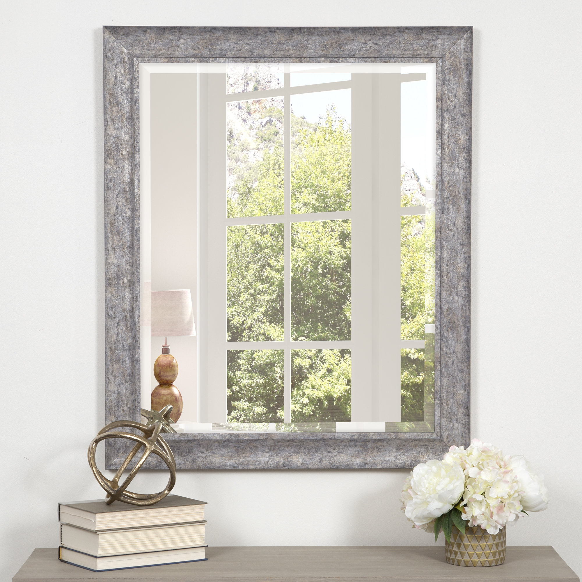 Popular Debbie Scoop Framed Beveled Accent Mirror In Willacoochee Traditional Beveled Accent Mirrors (View 9 of 20)