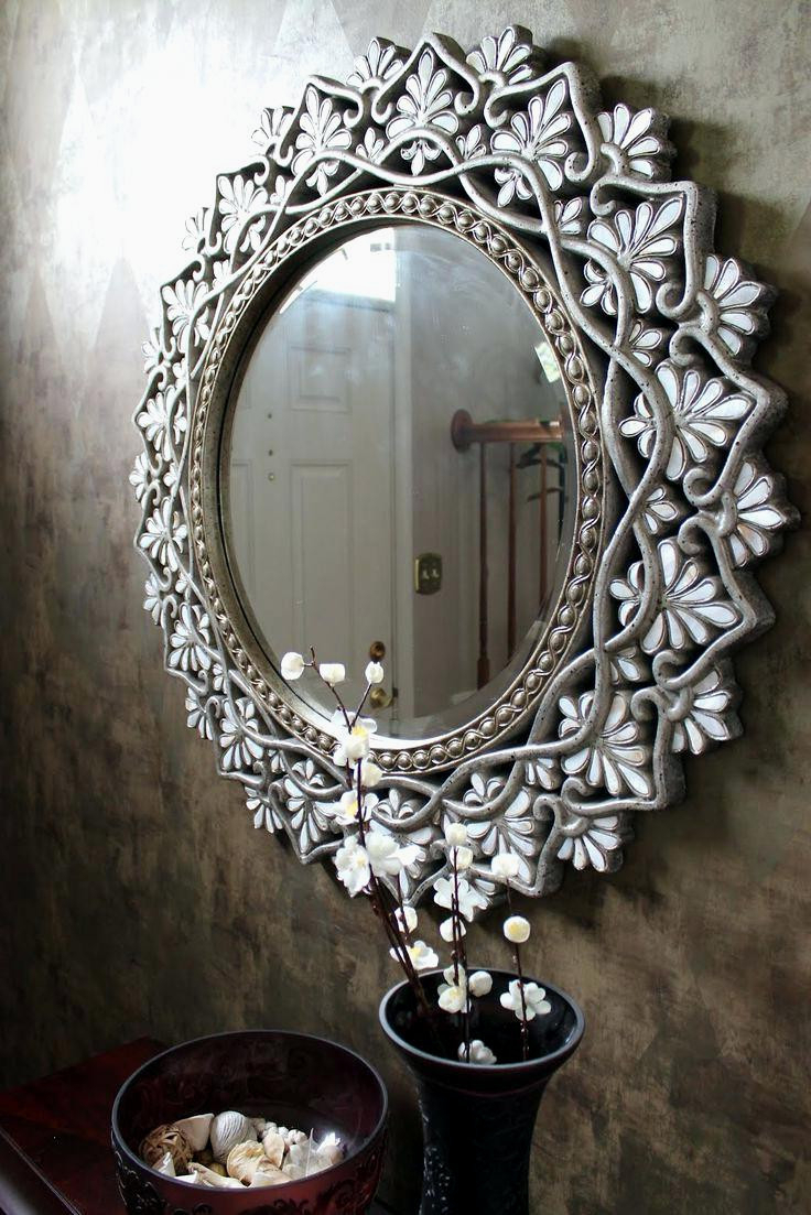 Popular Expensive Wall Mirrors With Gorgeous Rhinestone Wall Mirror Best Bling Diy Images Blinged Out (View 12 of 20)