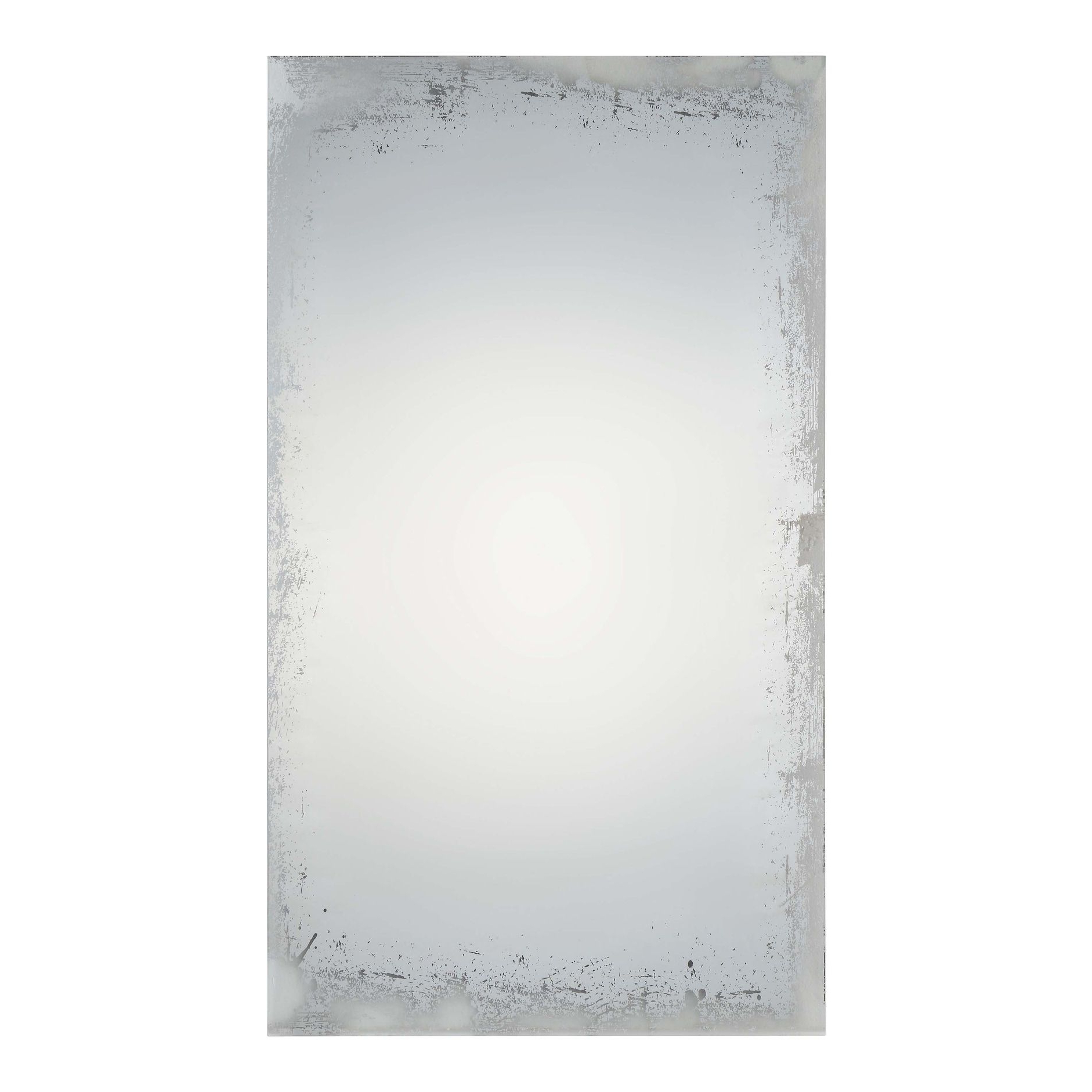Popular Full Length Frameless Wall Mirrors Within Currier Unframed Rectangular Wall Mirror, Renwil (View 17 of 20)