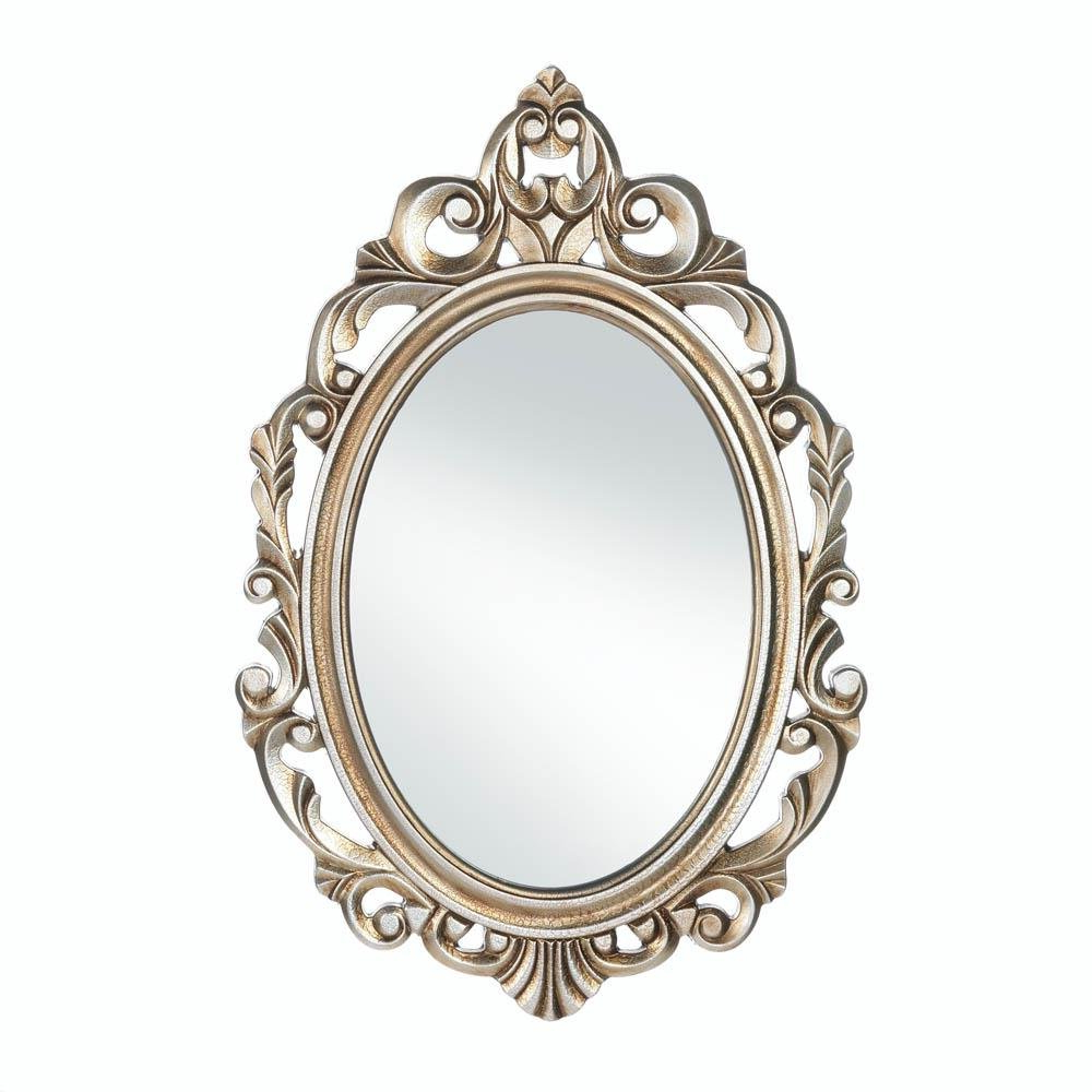 Popular Girls Wall Mirrors Pertaining To Amazon: Accent Plus Wall Mirrors For Girls, Gold Royal Crown (View 9 of 20)