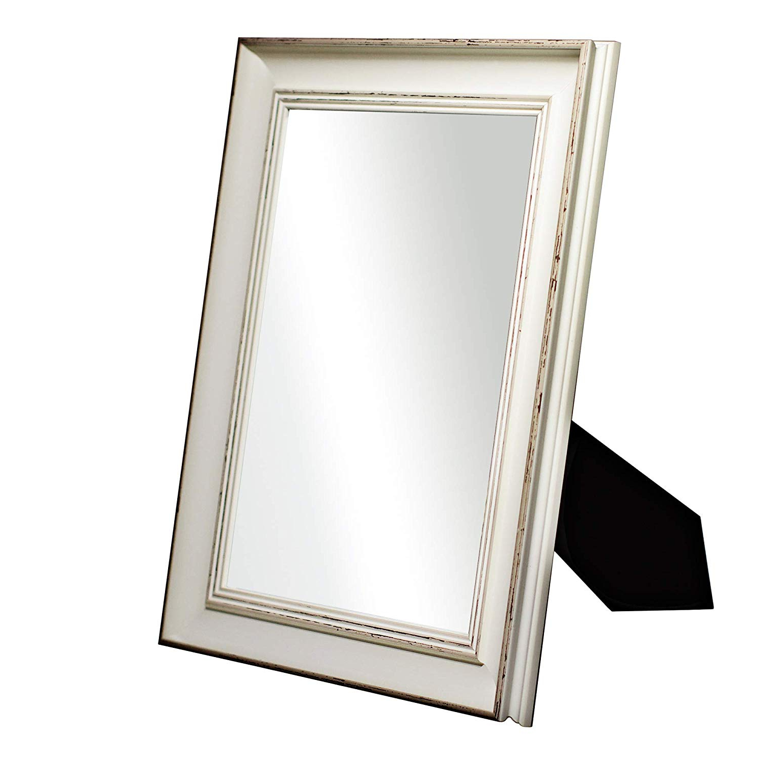"""Popular Girls Wall Mirrors With Mirroir Trend 15"""" X 12"""" Vanity Mirror For Wall And Rectangle Tabletop Wall For Bathroom Women And Girls Makeup Mirror Decorative Wall Mirrors (white (View 11 of 20)"""