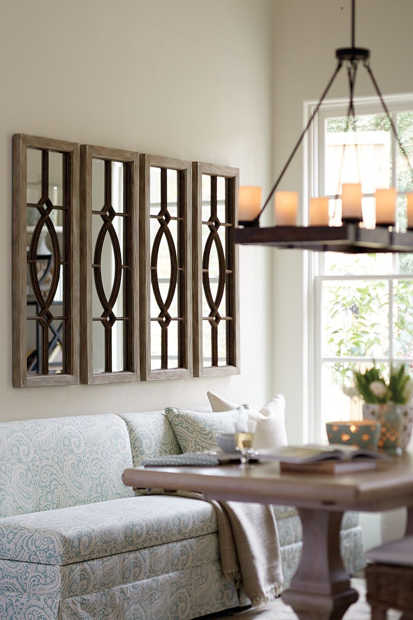 Popular Kitchen Wall Mirrors Pertaining To Decorating With Architectural Mirrors (View 14 of 20)